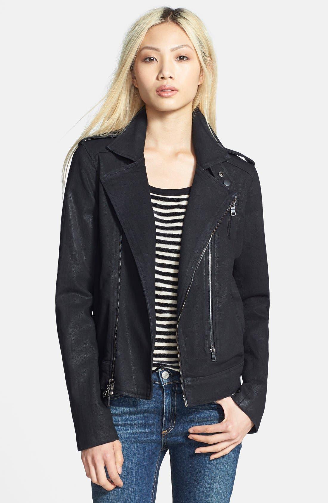 'Cynic' Moto Jacket, Main, color, 001