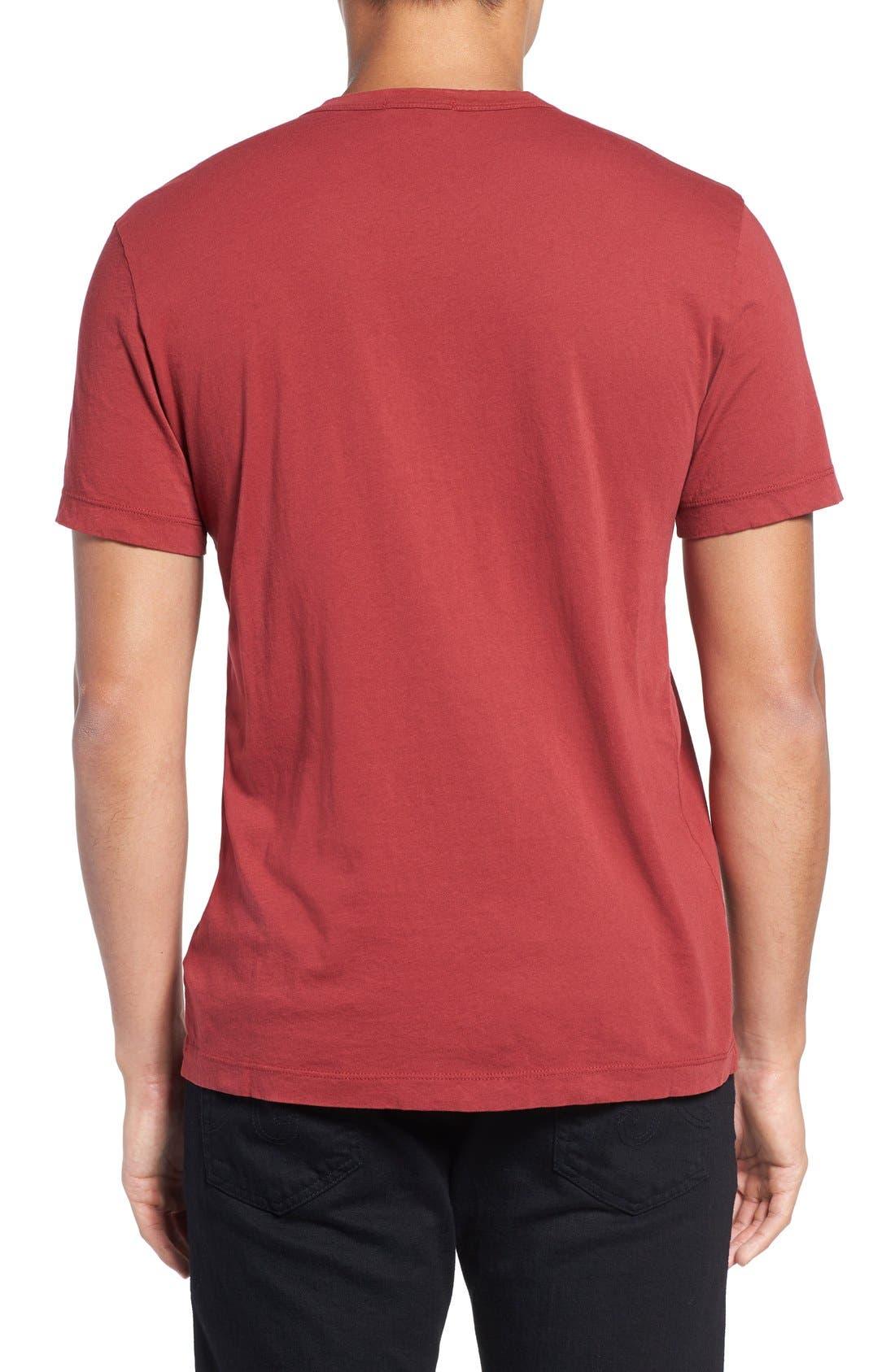 Crewneck Jersey T-Shirt,                             Alternate thumbnail 370, color,