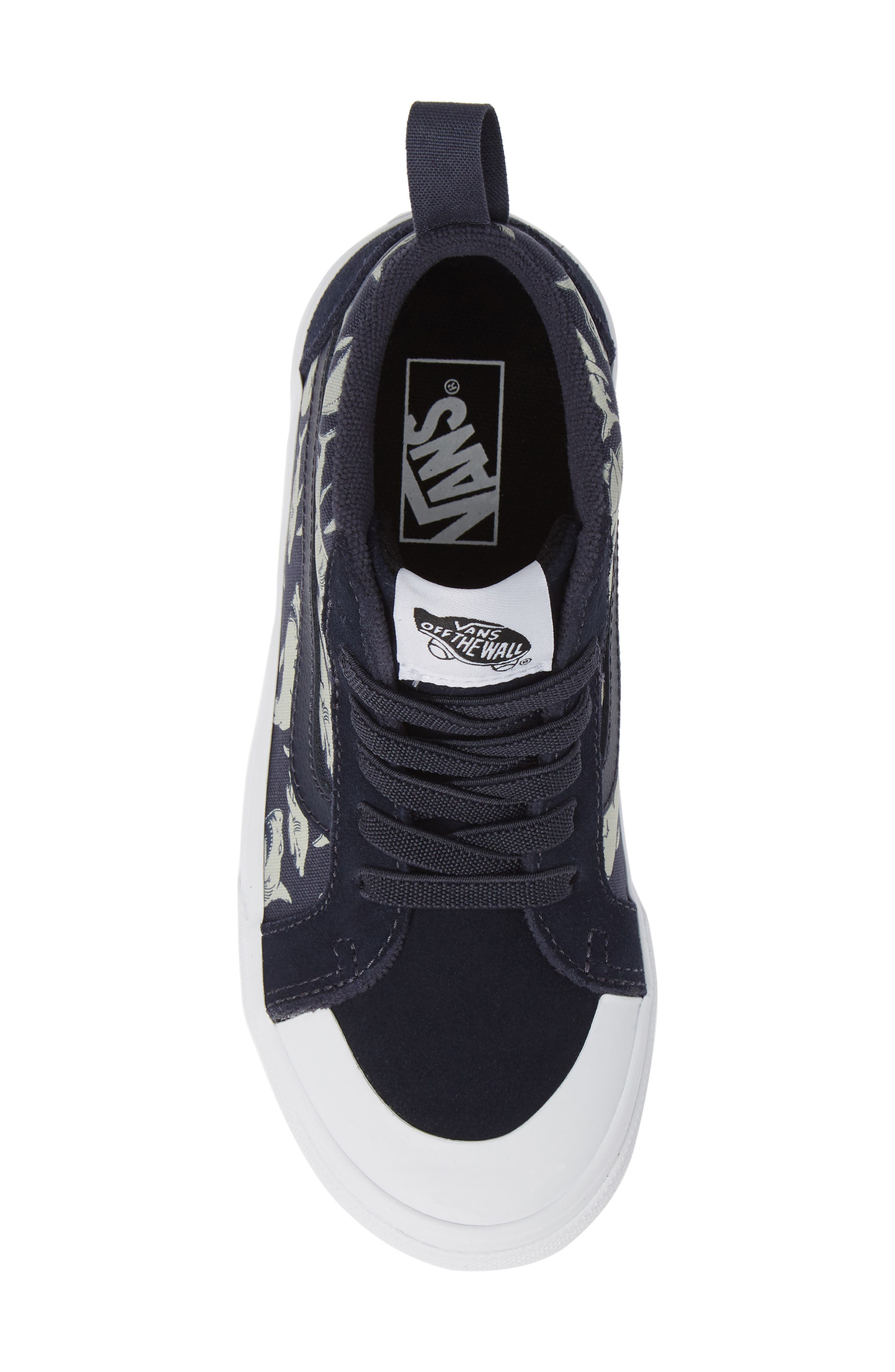 Racer Mid Elastic Lace Sneaker,                             Alternate thumbnail 33, color,