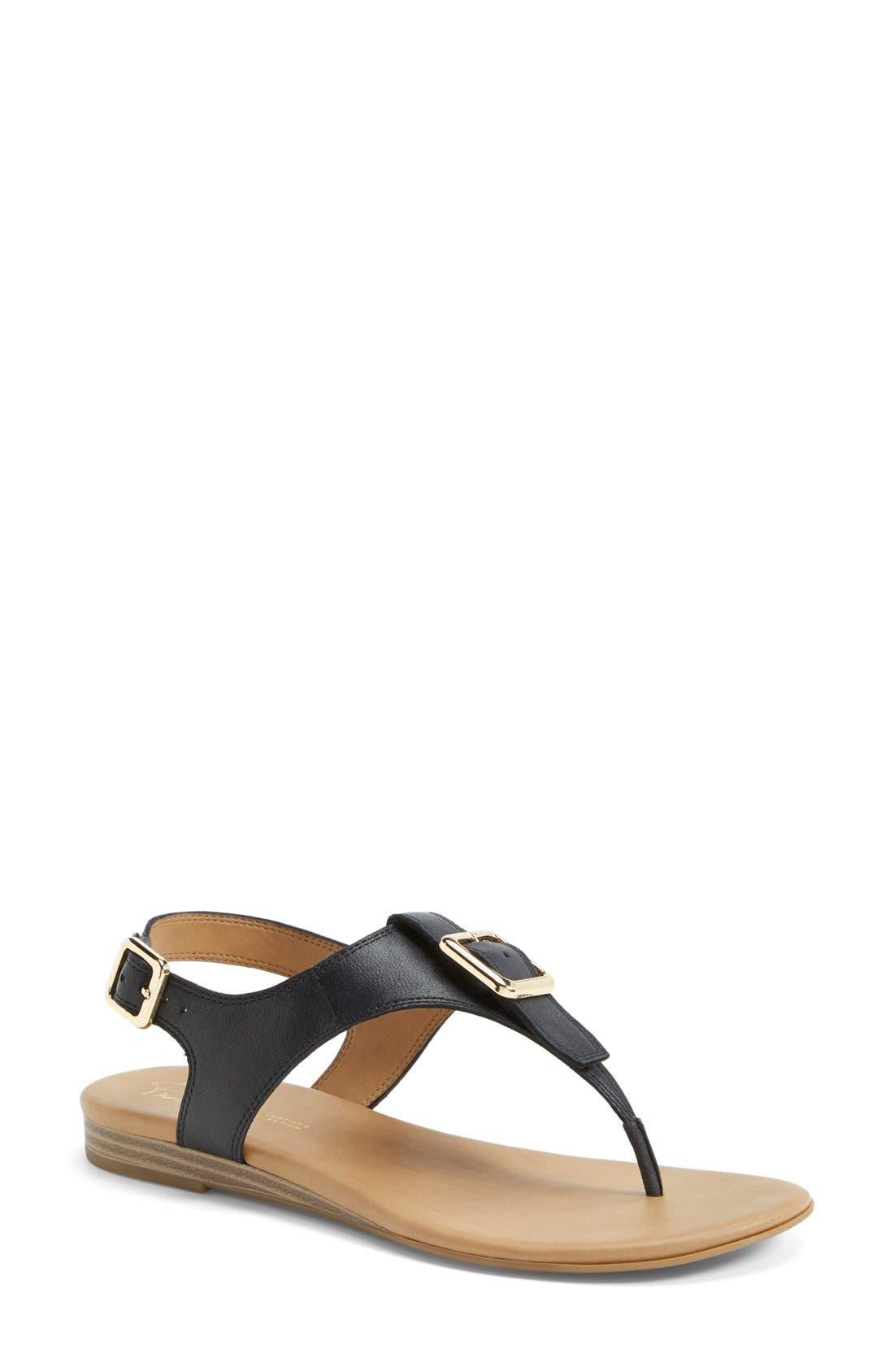 'Gita' Thong Sandal,                         Main,                         color, 001