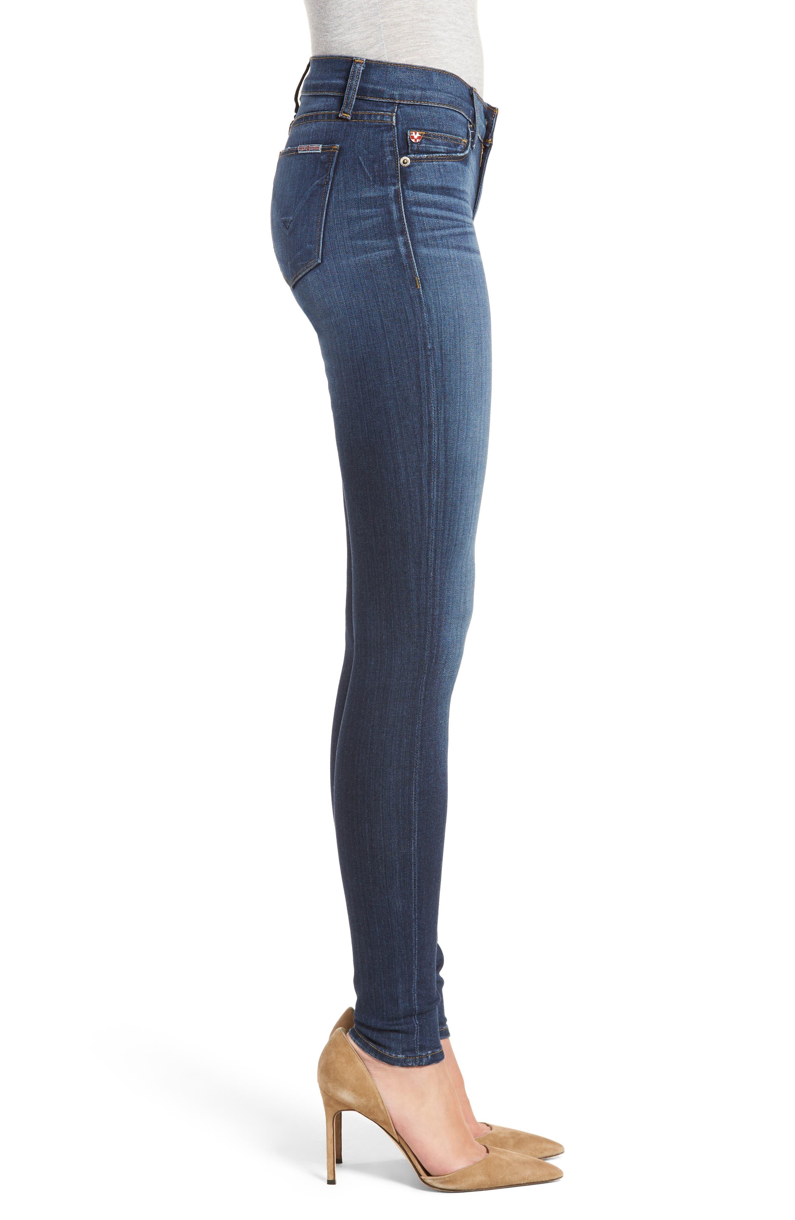 'Krista' Super Skinny Jeans,                             Alternate thumbnail 12, color,