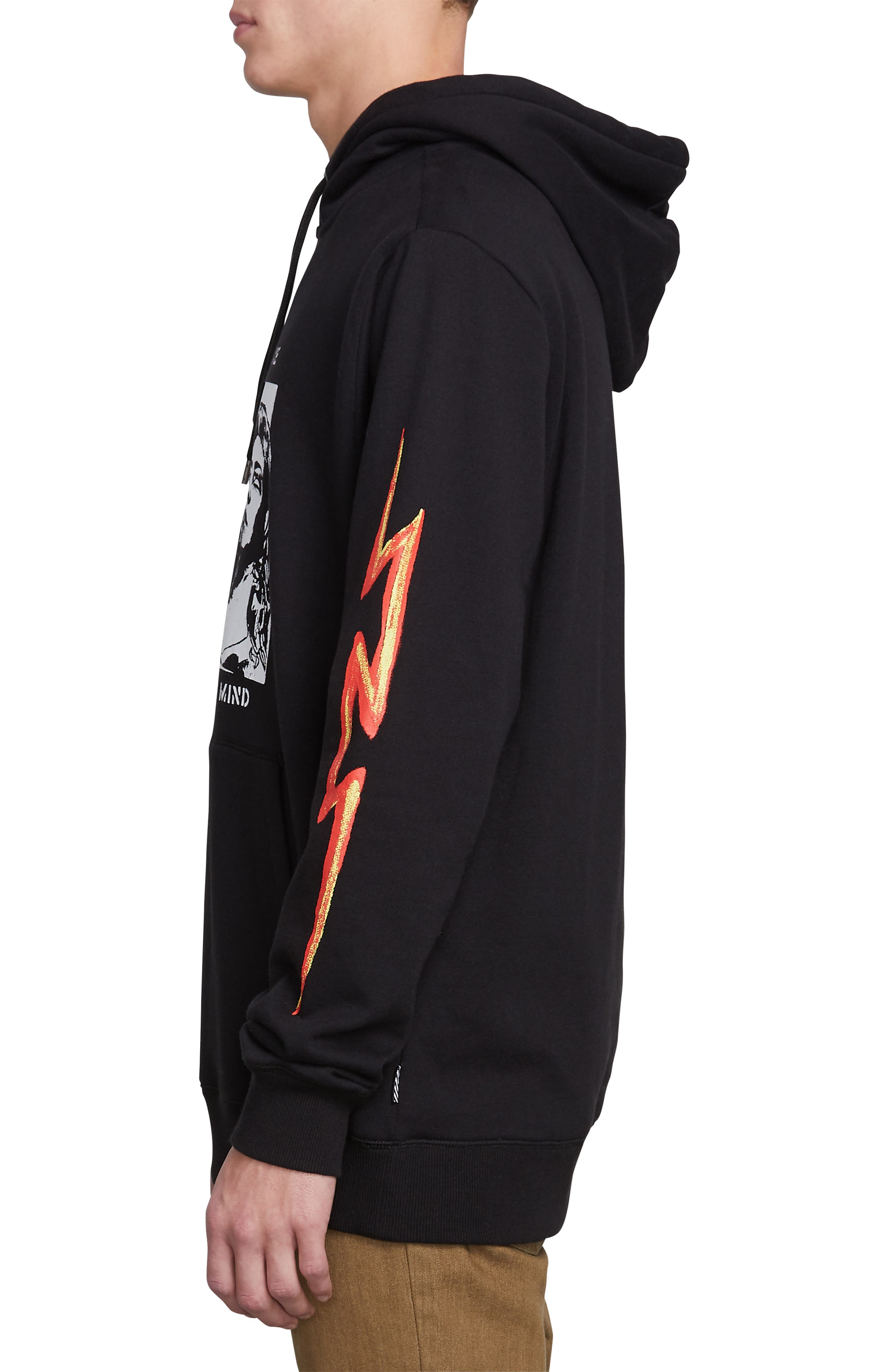 Reload Graphic Hoodie,                             Alternate thumbnail 3, color,                             BLACK