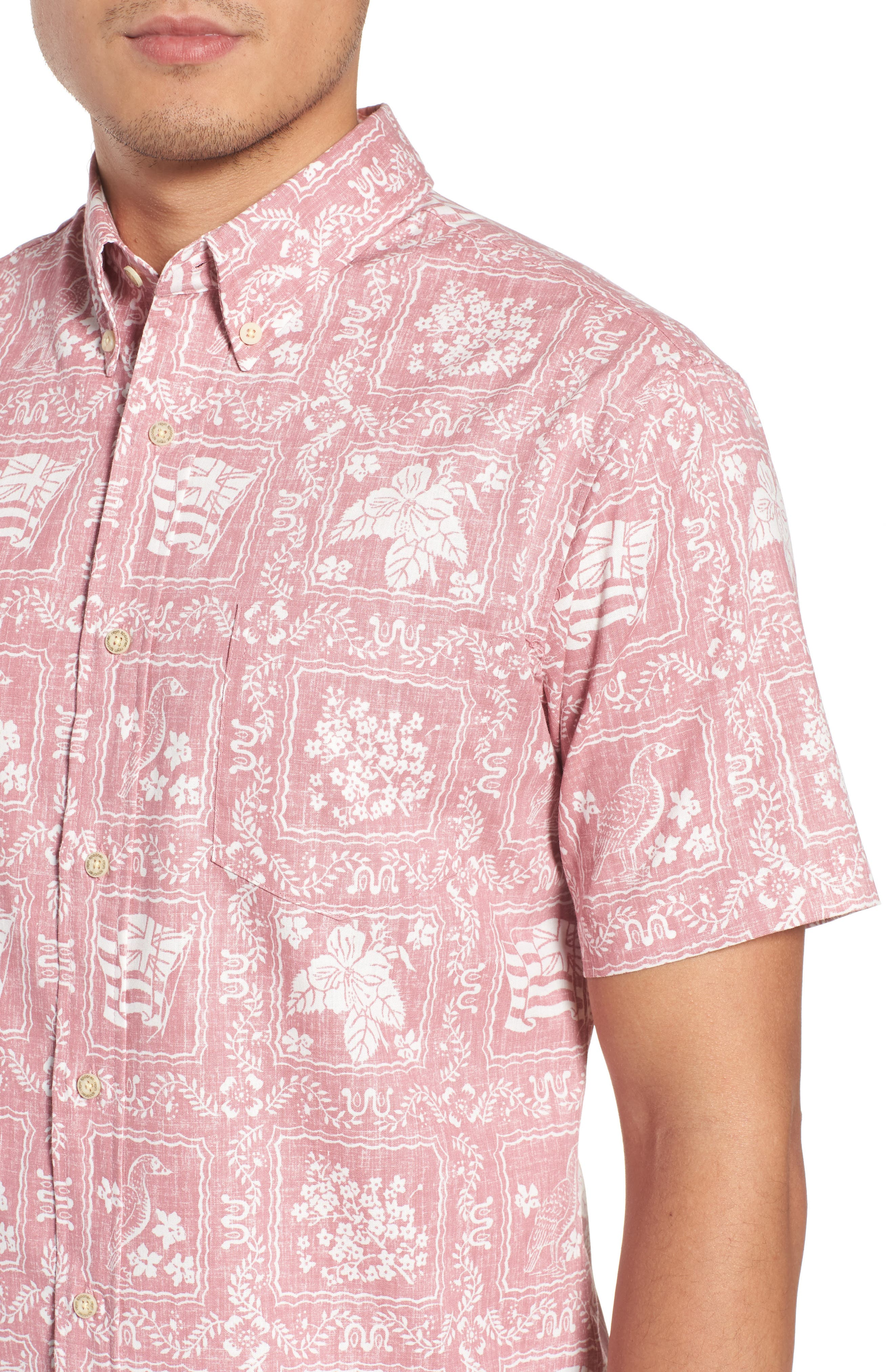 Lahaina Sailor Tailored Fit Sport Shirt,                             Alternate thumbnail 11, color,