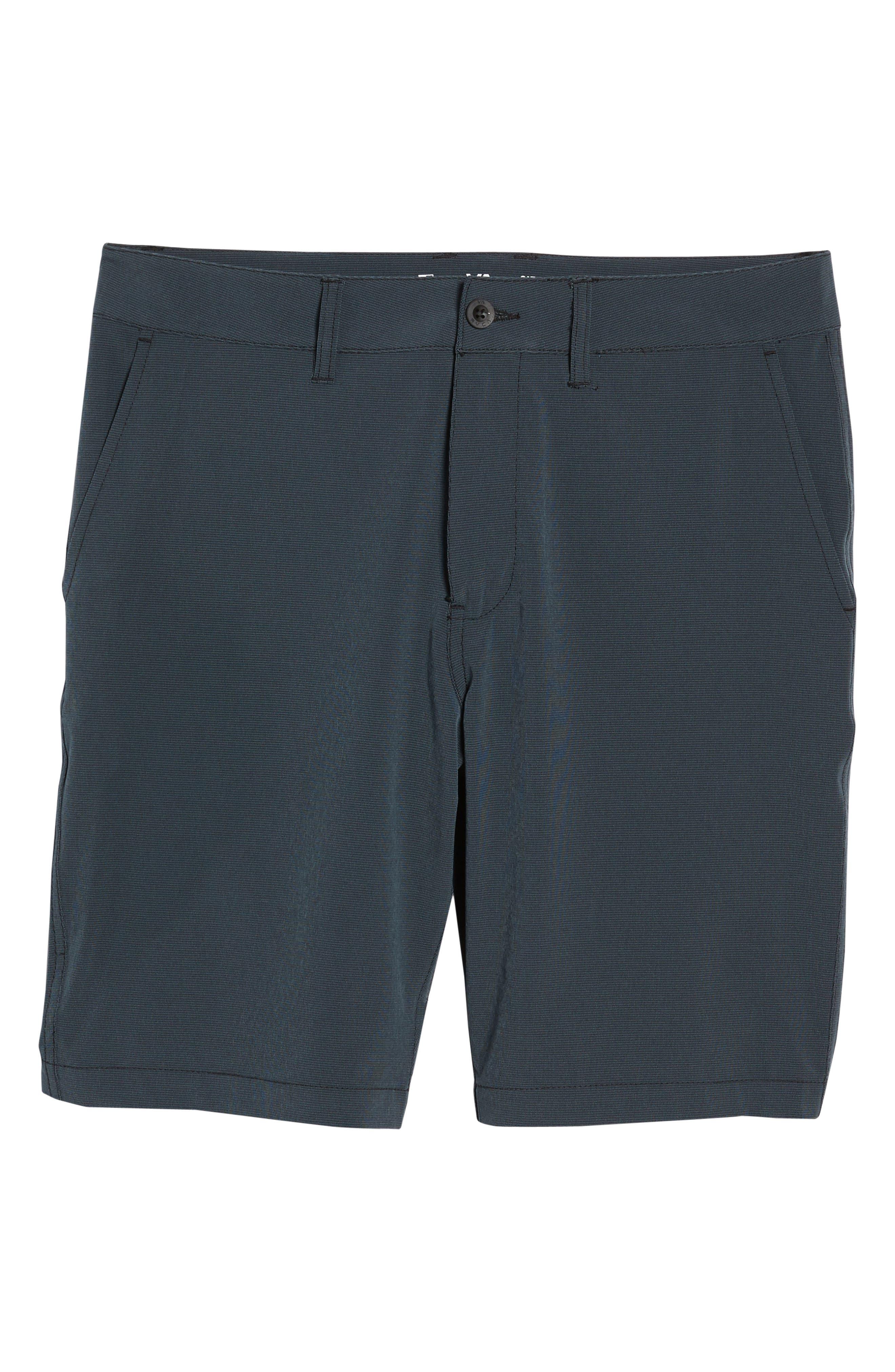 Grid Hybrid Shorts,                             Alternate thumbnail 6, color,                             001