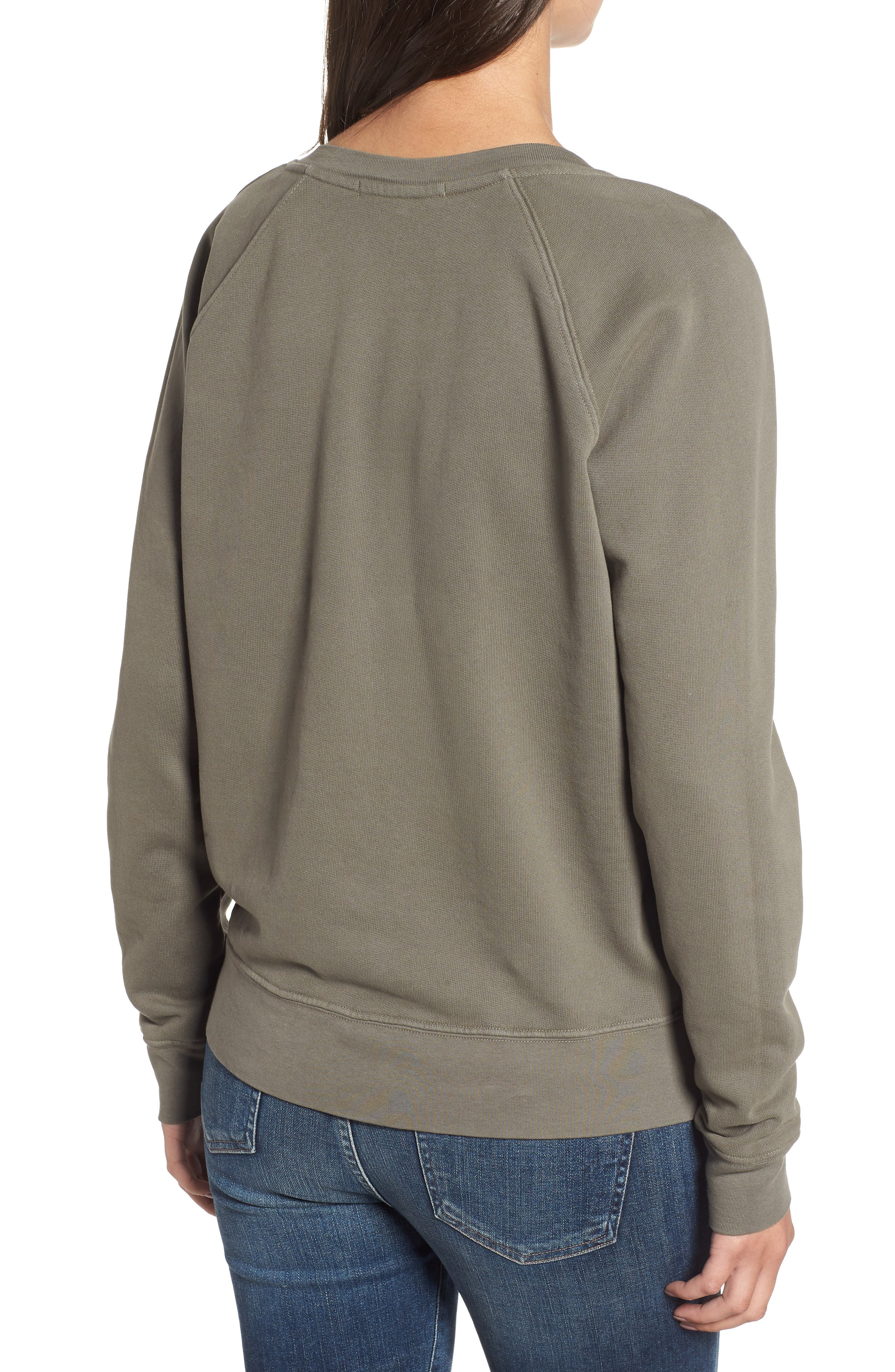 French Terry Sweatshirt,                             Alternate thumbnail 2, color,                             300