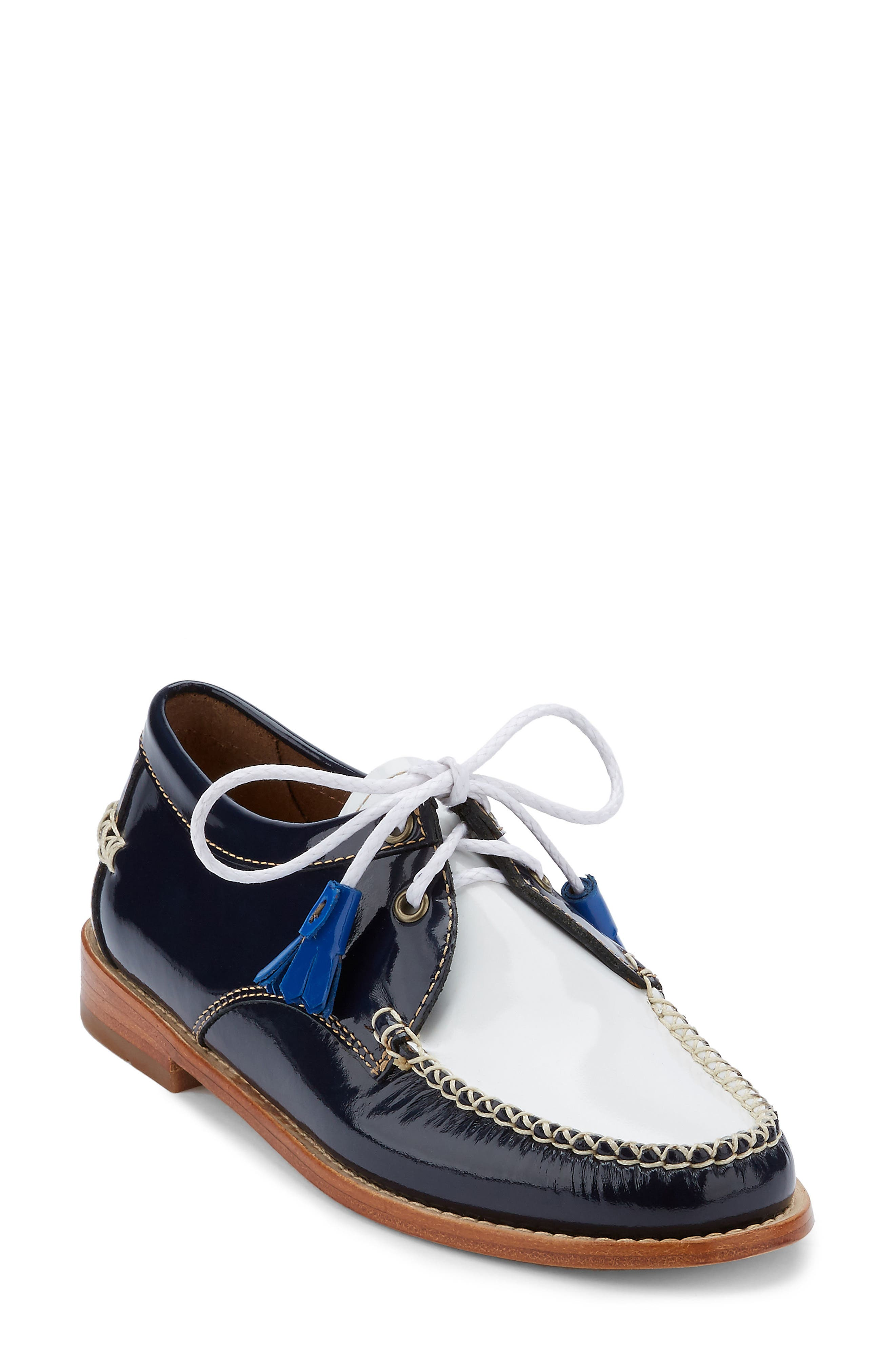 'Winnie' Leather Oxford,                             Main thumbnail 7, color,