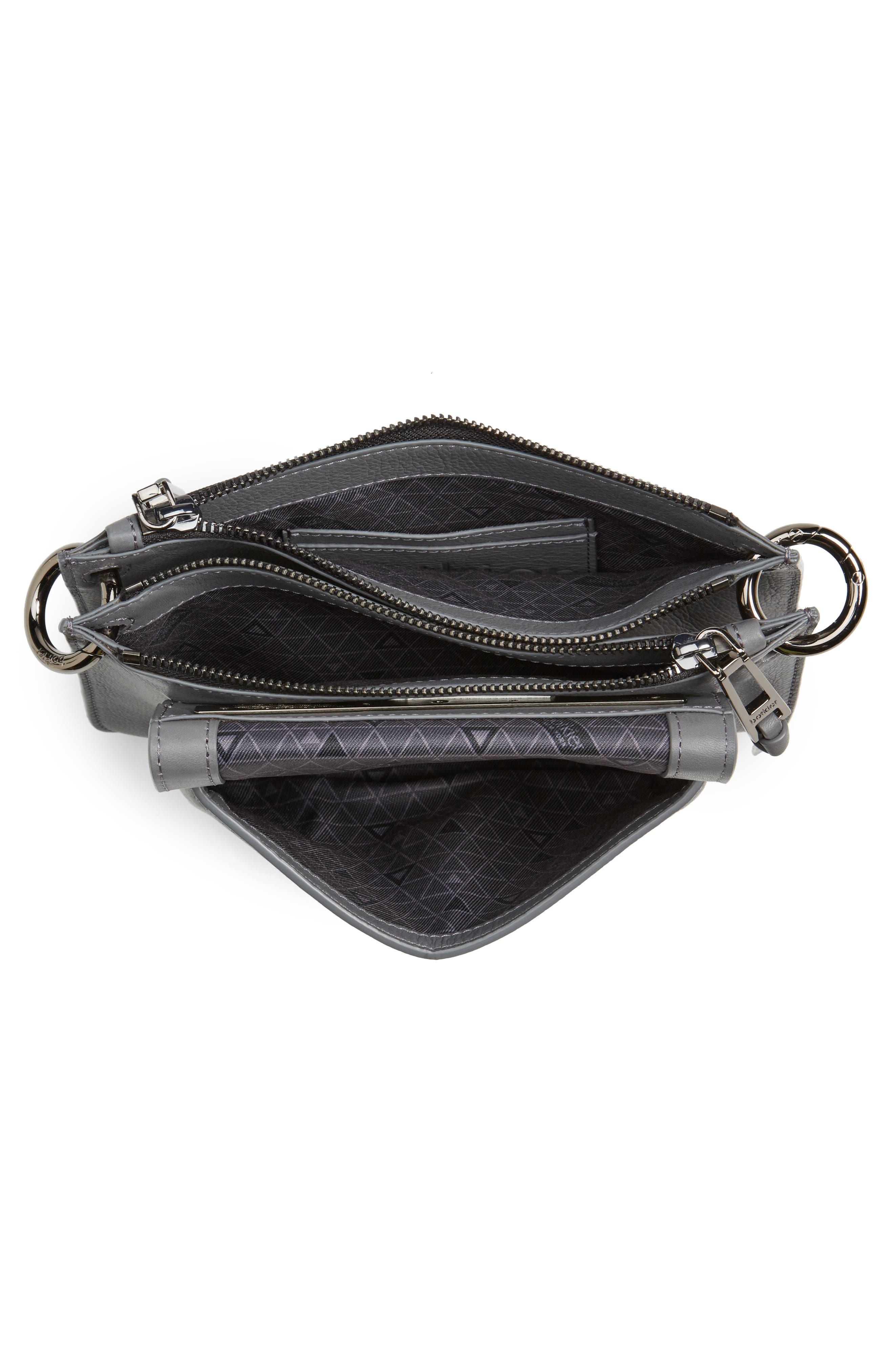 Bleeker Leather Double Shoulder Bag,                             Alternate thumbnail 21, color,