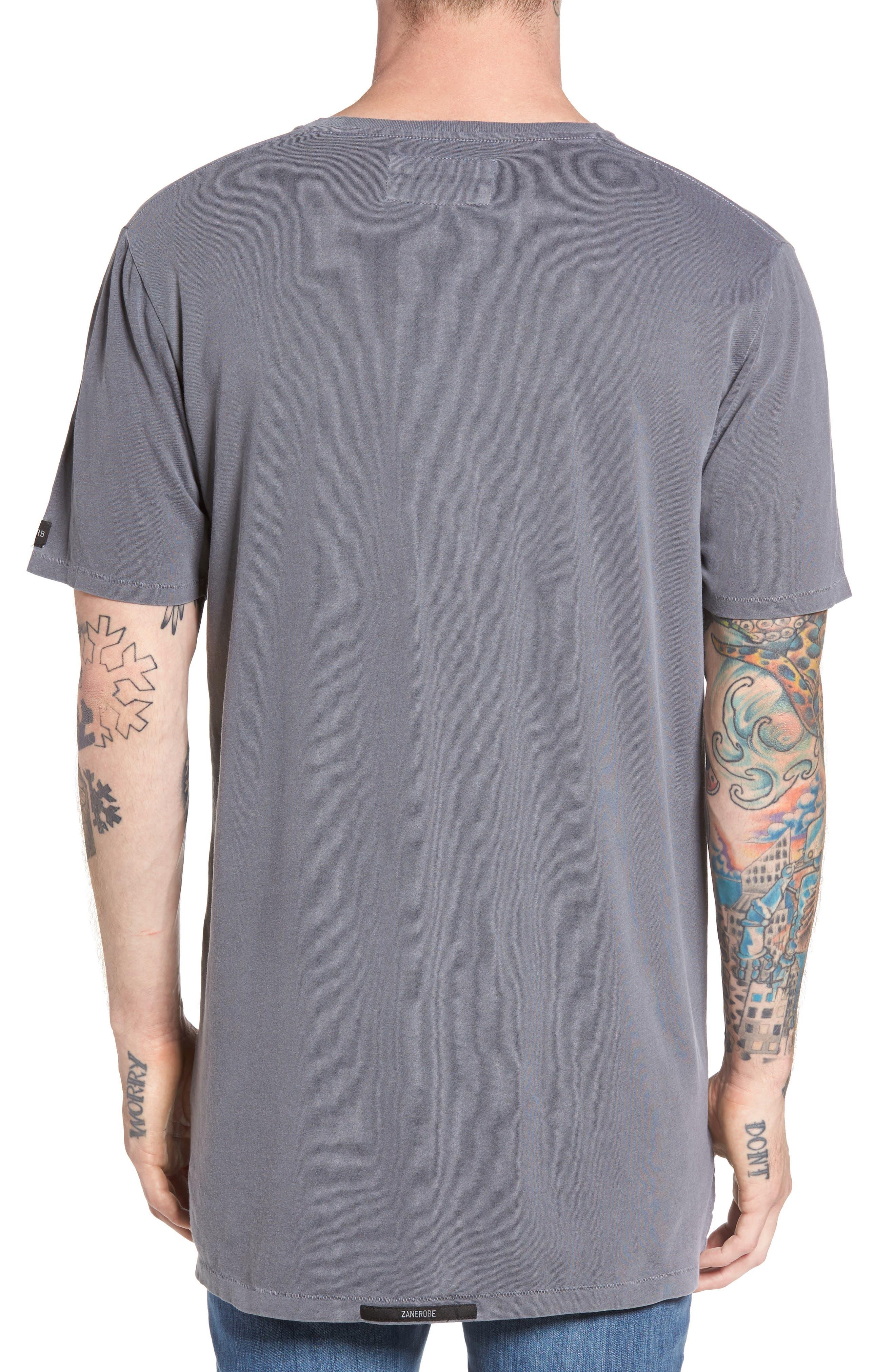 Flintlock Longline T-Shirt,                             Alternate thumbnail 2, color,                             029