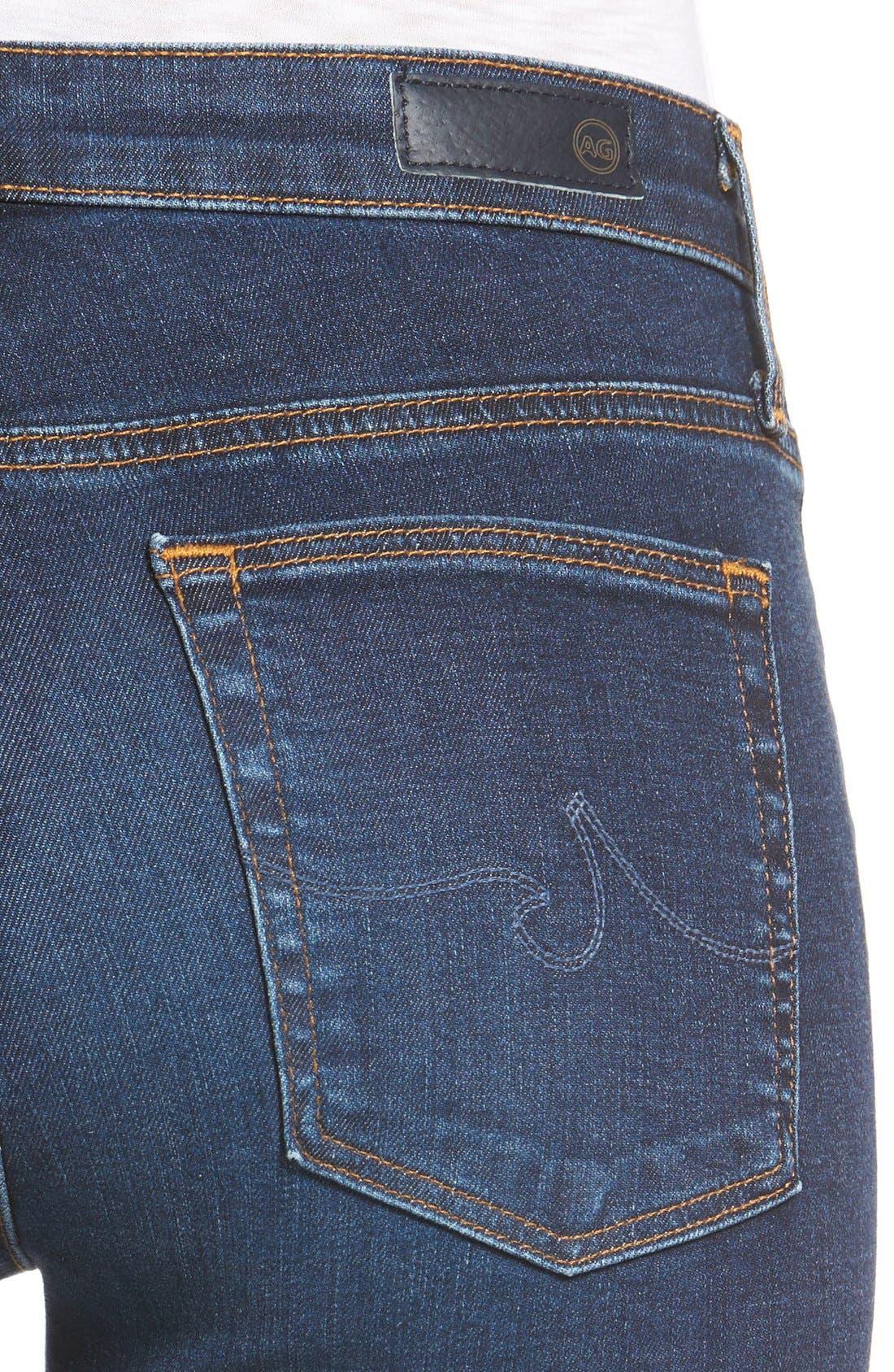 'The Farrah' High Rise Skinny Jeans,                             Alternate thumbnail 55, color,