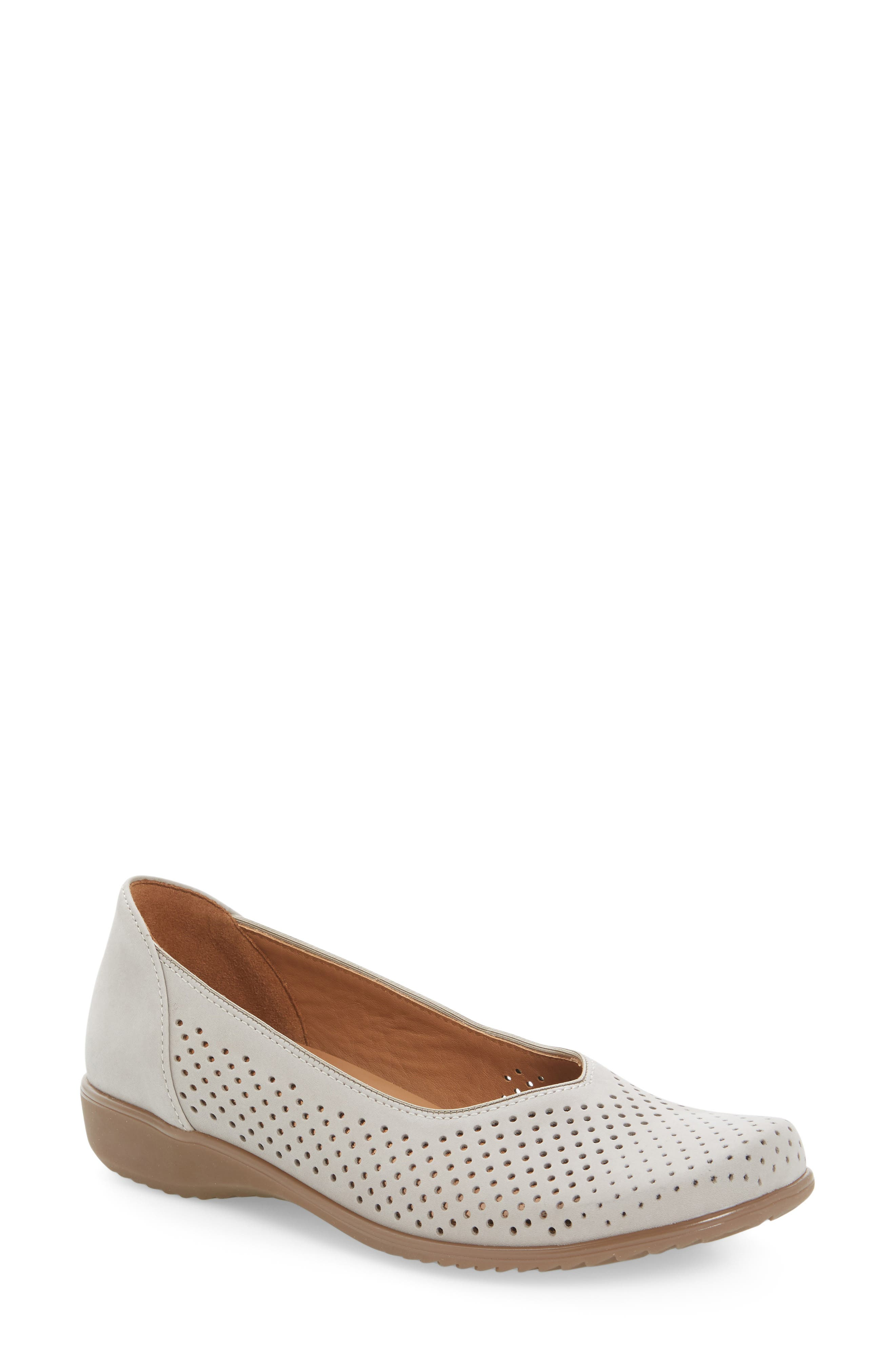 Avril Perforated Flat,                         Main,                         color, MOON