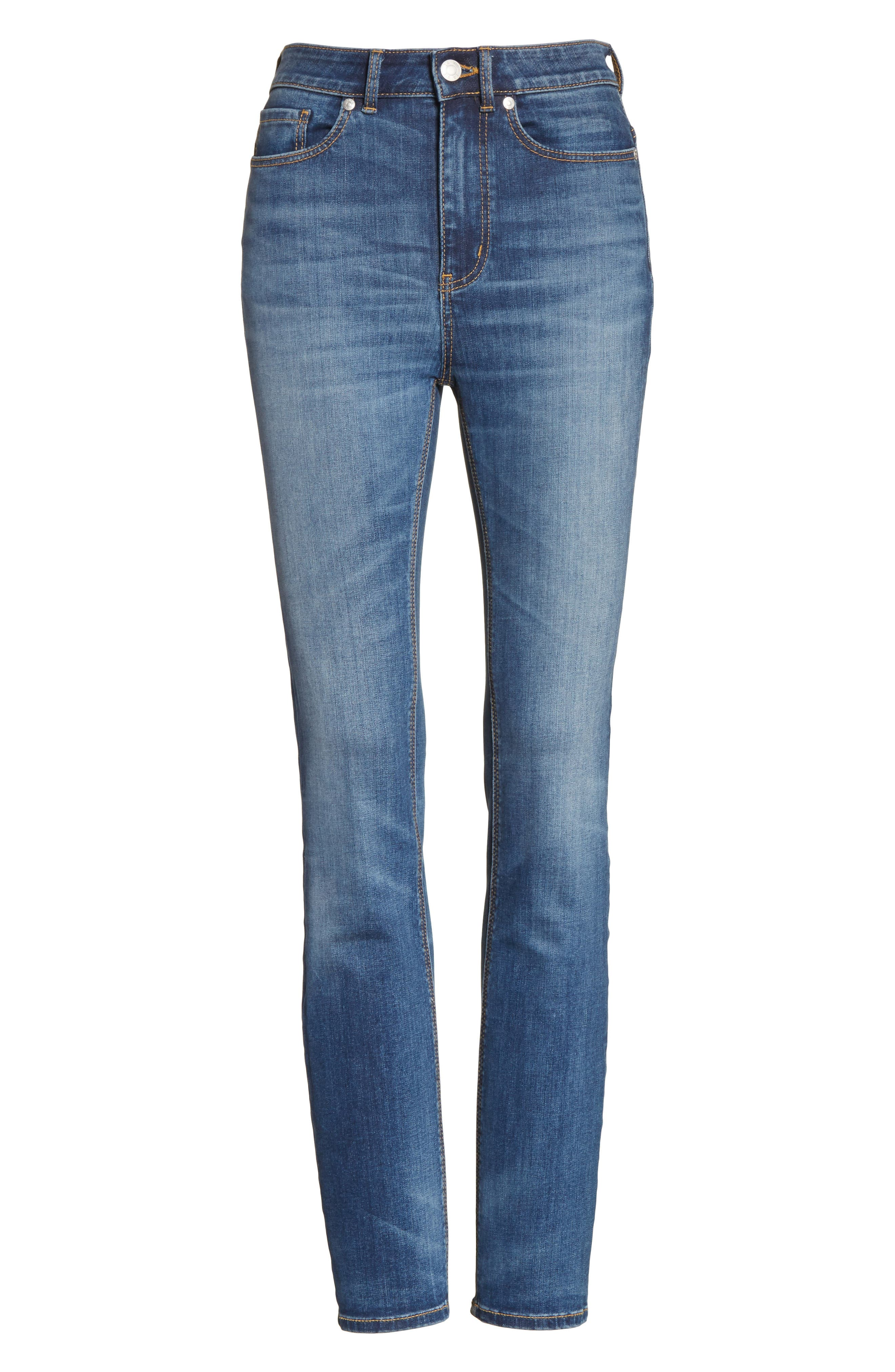 Clemence Skinny Jeans,                             Alternate thumbnail 6, color,                             401
