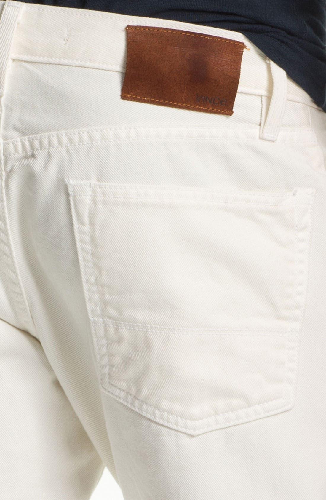 Straight Leg Five Pocket Pants,                             Alternate thumbnail 3, color,                             115
