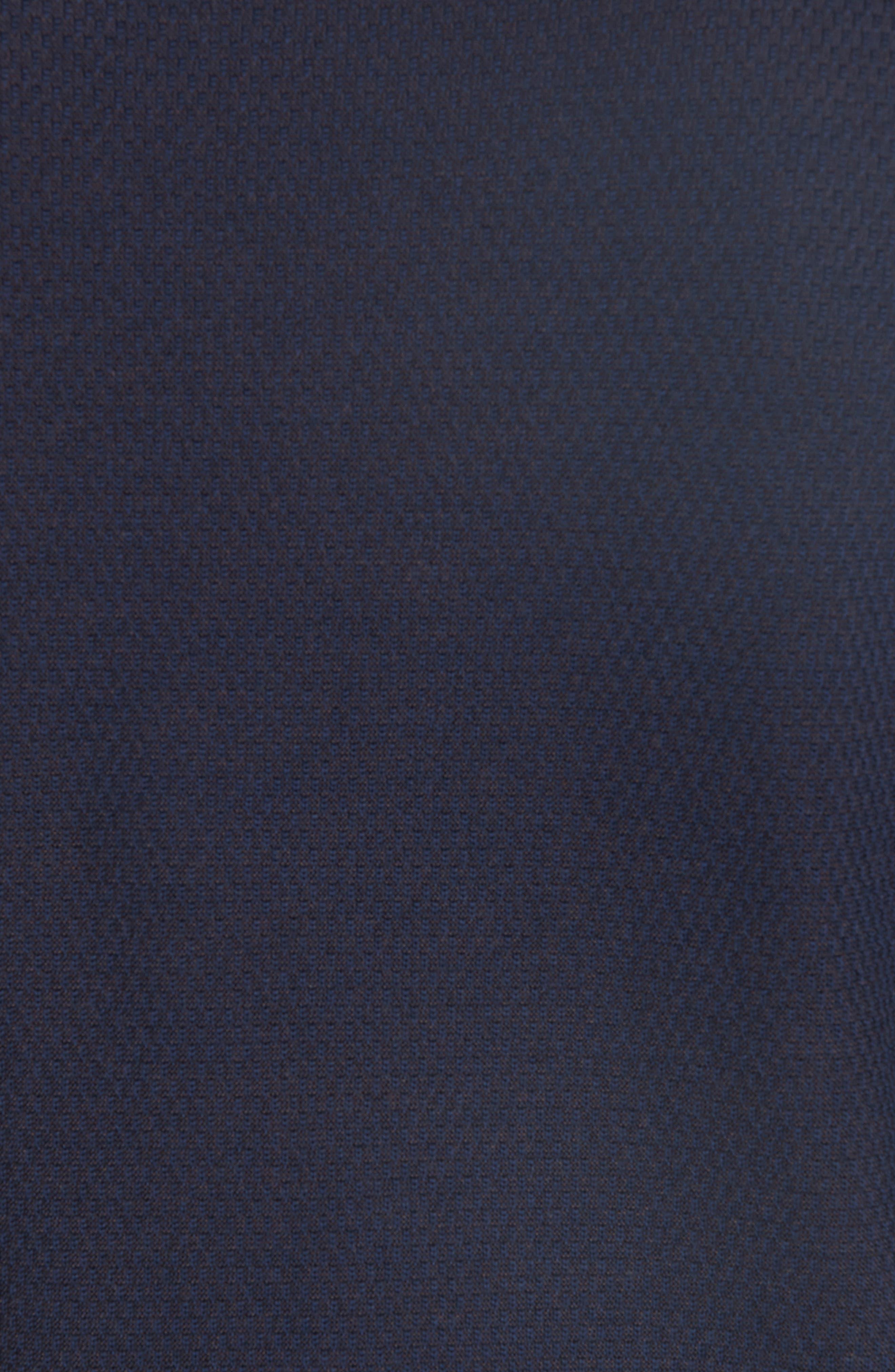 Crewneck Wool Sweater,                             Alternate thumbnail 5, color,                             NAVY
