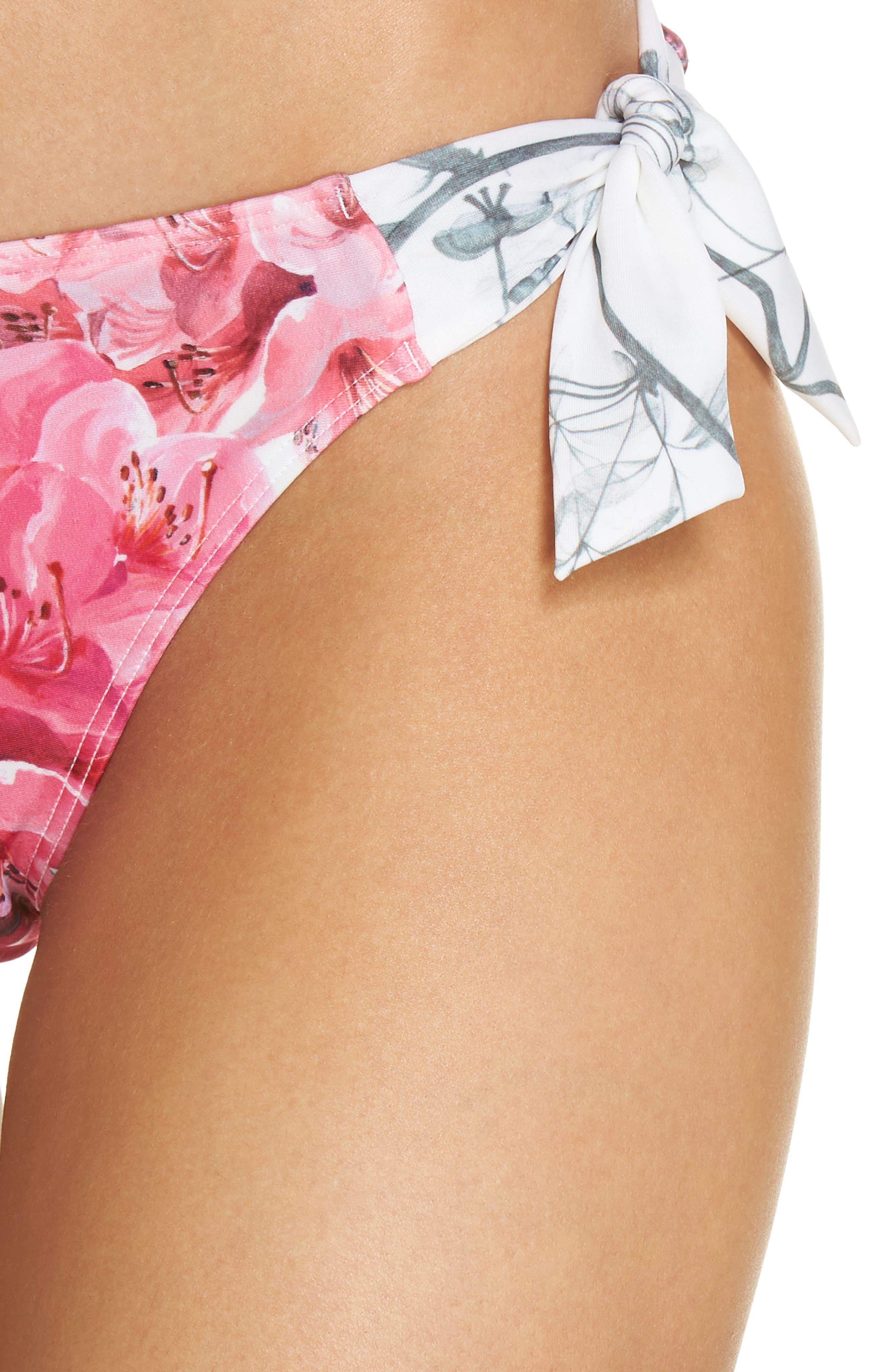 Fardet Babylon Print Bikini Bottoms,                             Alternate thumbnail 4, color,                             111