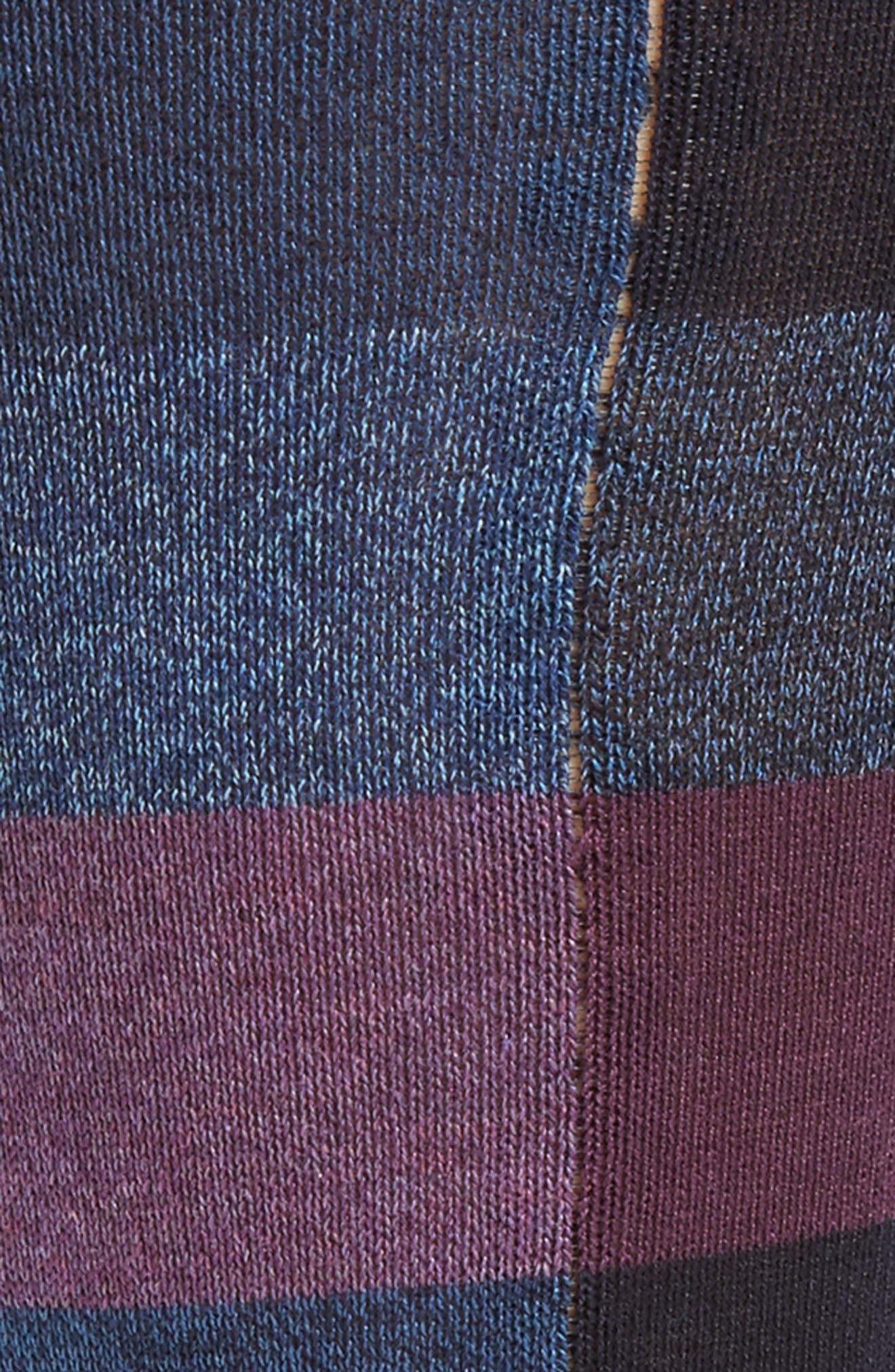 Plaid Crew Socks,                             Alternate thumbnail 2, color,                             408
