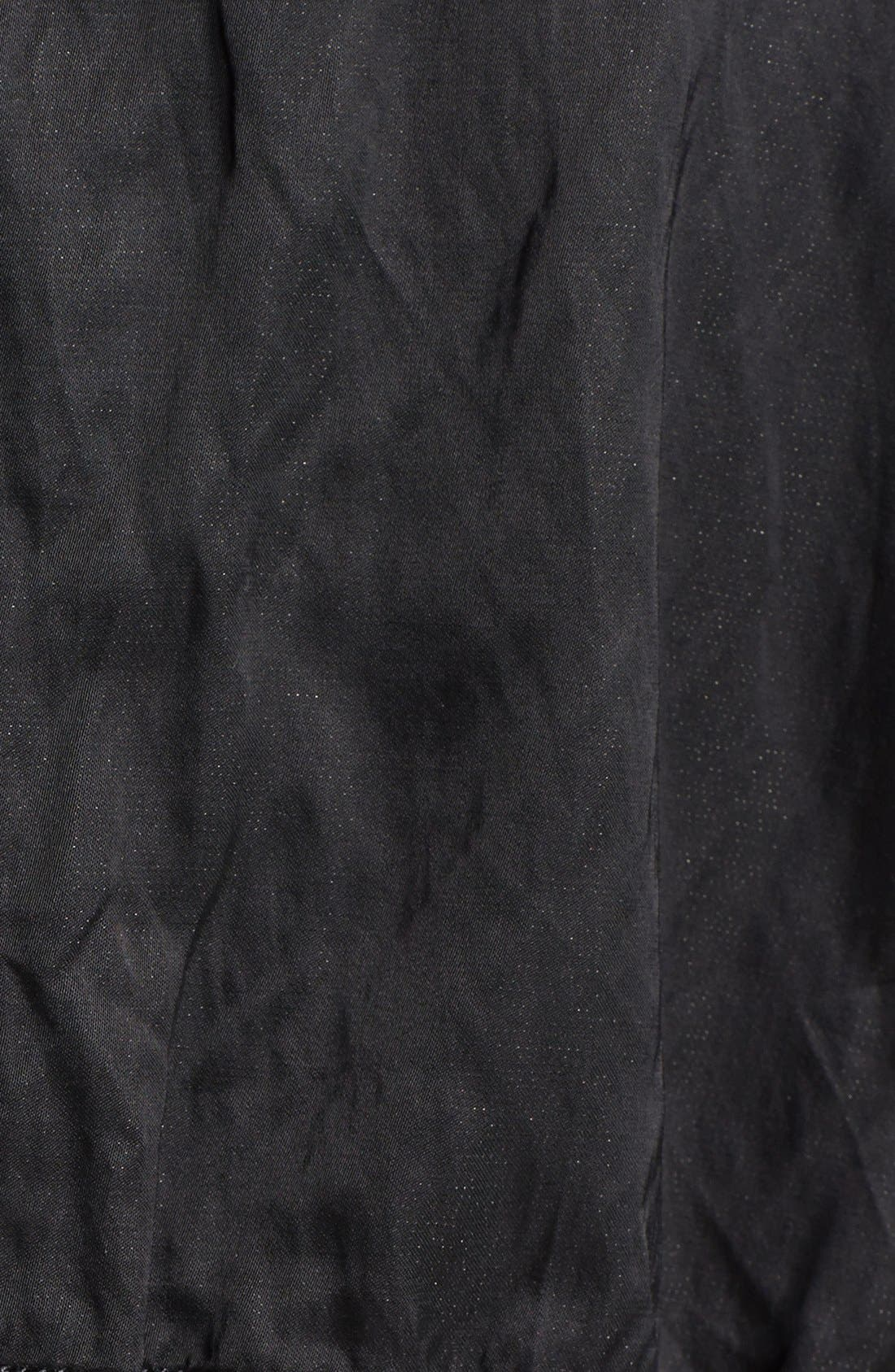 'Luxe' Anorak Jacket,                             Alternate thumbnail 3, color,                             001