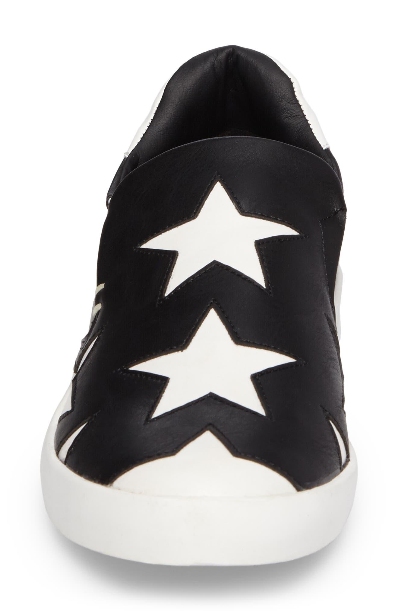 Highlight Slip-On Star Sneaker,                             Alternate thumbnail 4, color,                             015