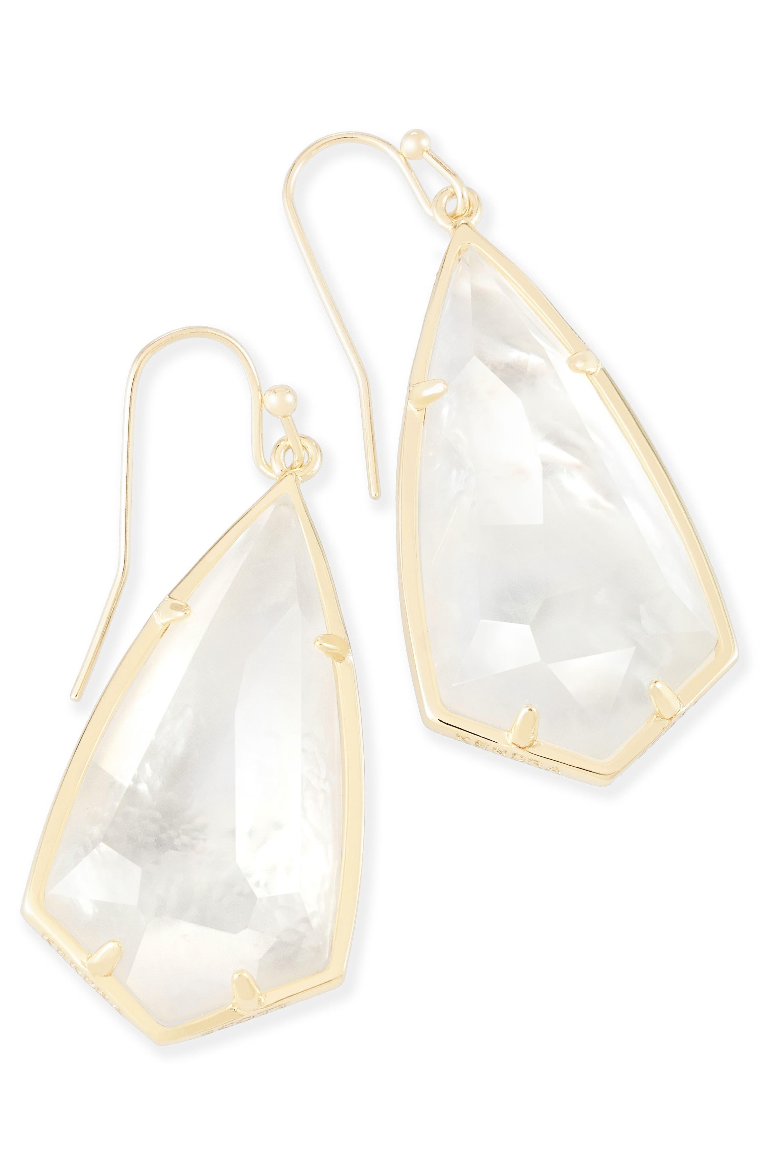 Carla Semiprecious Stone Drop Earrings,                             Alternate thumbnail 20, color,
