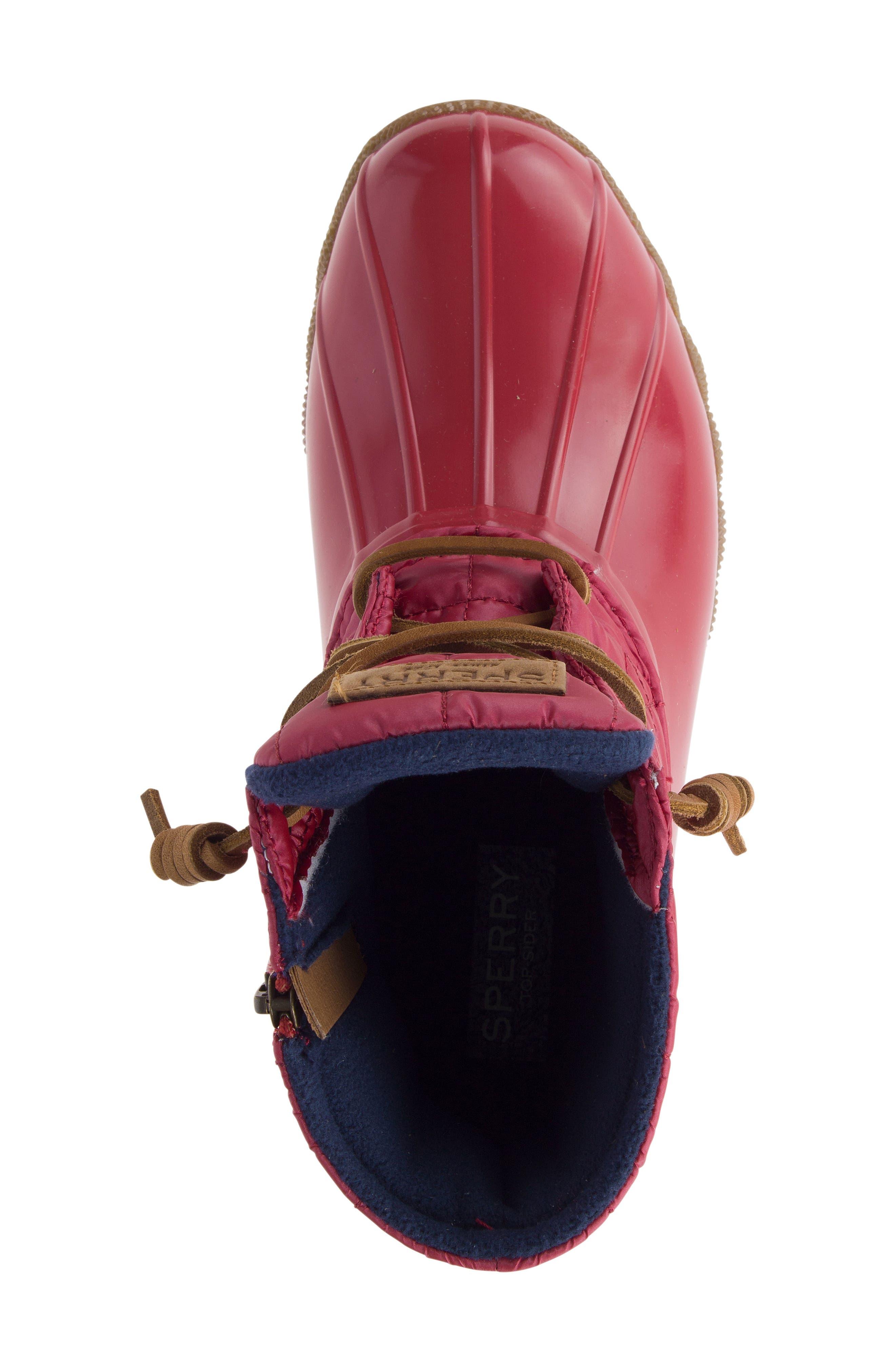 'Saltwater' Waterproof Rain Boot,                             Alternate thumbnail 100, color,