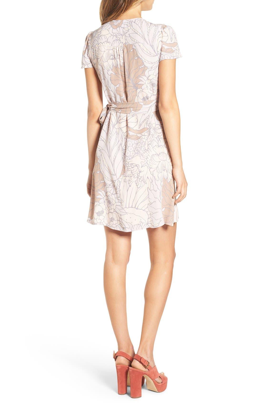 Wrap Dress,                             Alternate thumbnail 3, color,                             050