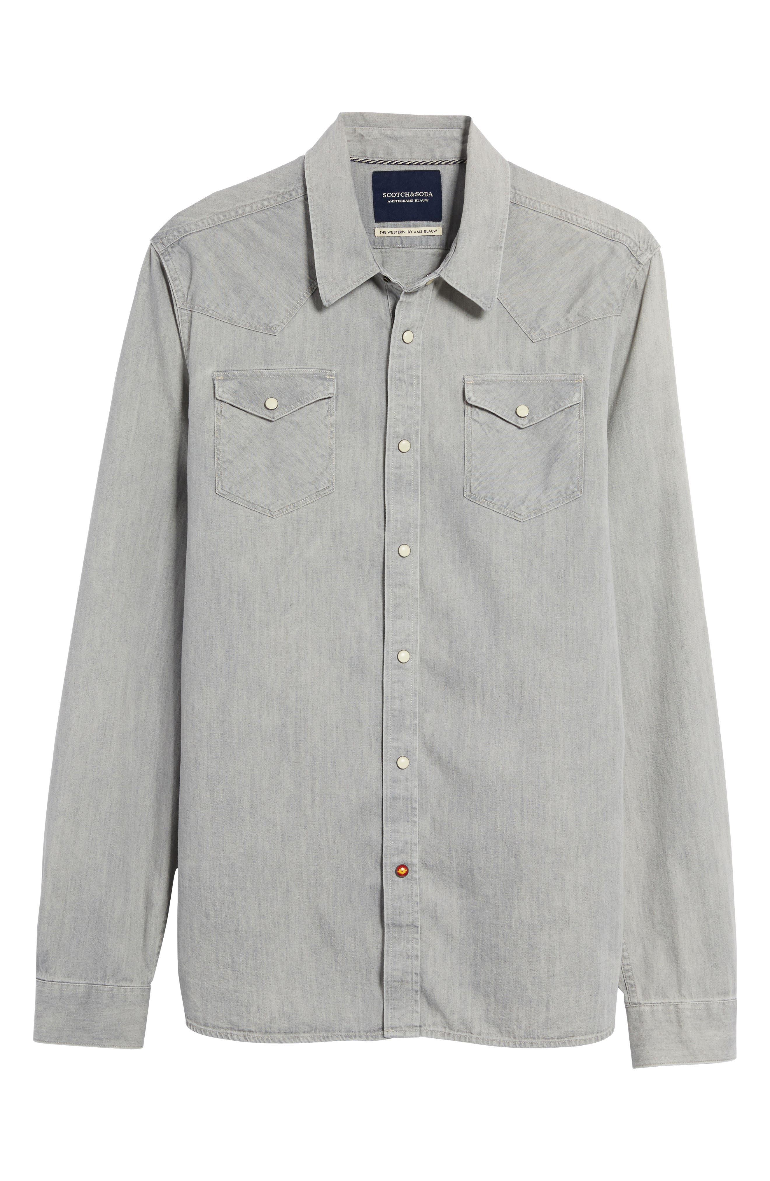Western Shirt,                             Alternate thumbnail 6, color,                             040
