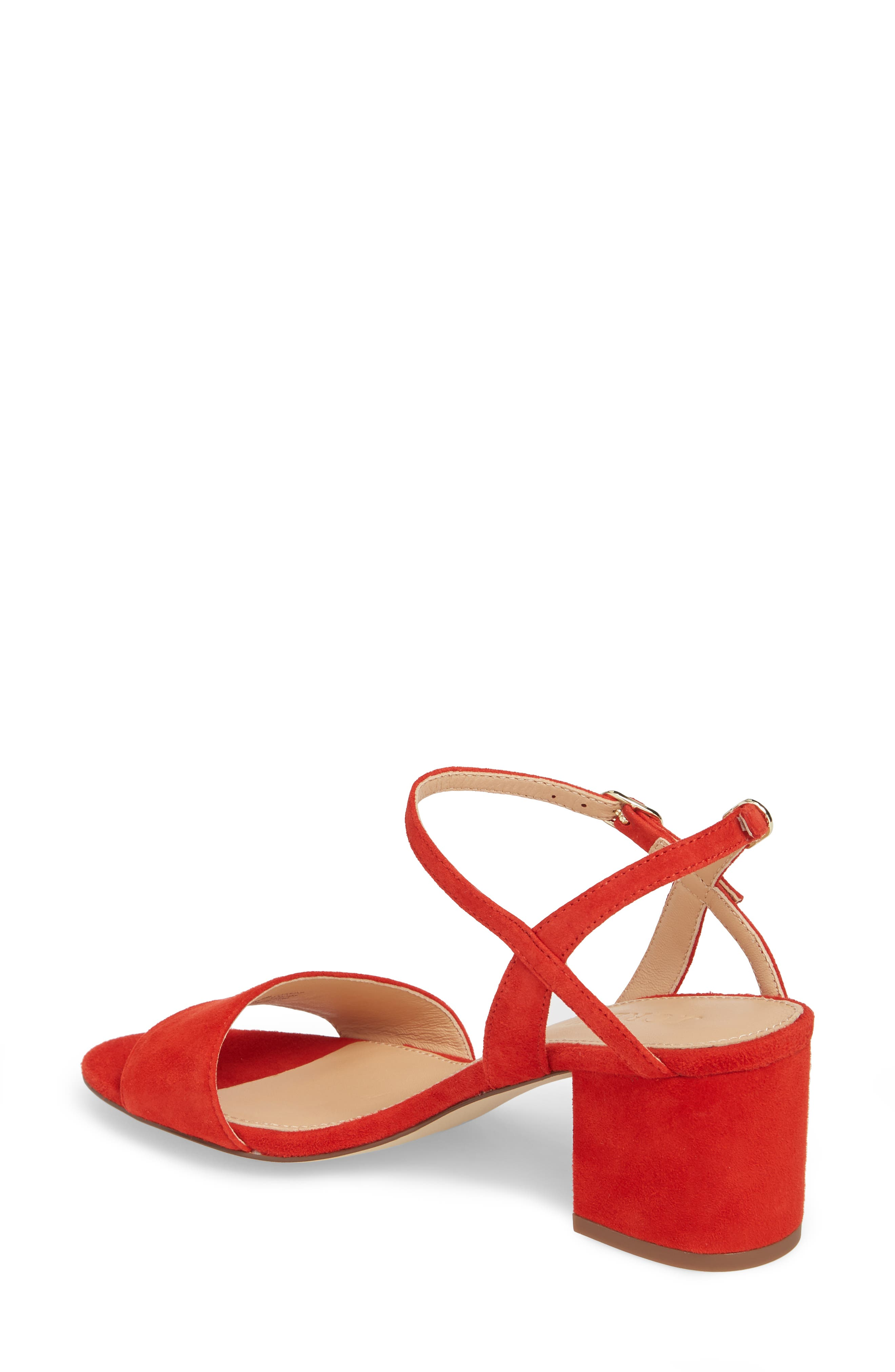 Strappy Block Heel Sandal,                             Alternate thumbnail 6, color,
