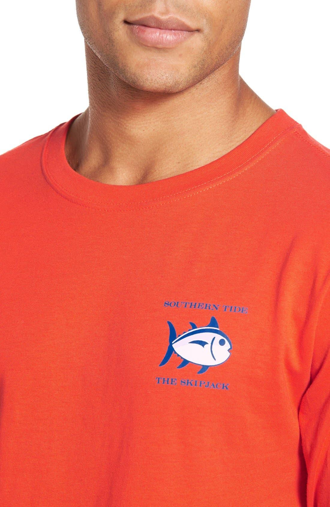 'Skipjack'Long Sleeve Graphic T-Shirt,                             Alternate thumbnail 44, color,