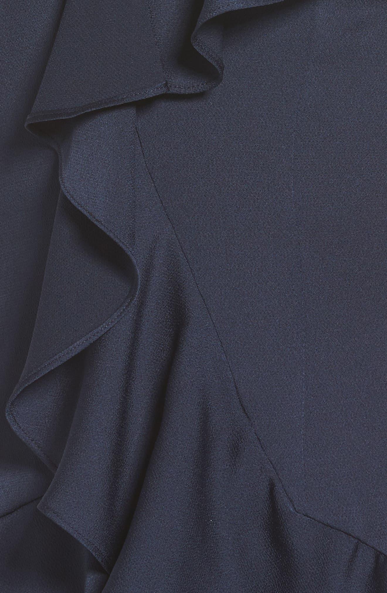Love Bound Midi Dress,                             Alternate thumbnail 5, color,                             410