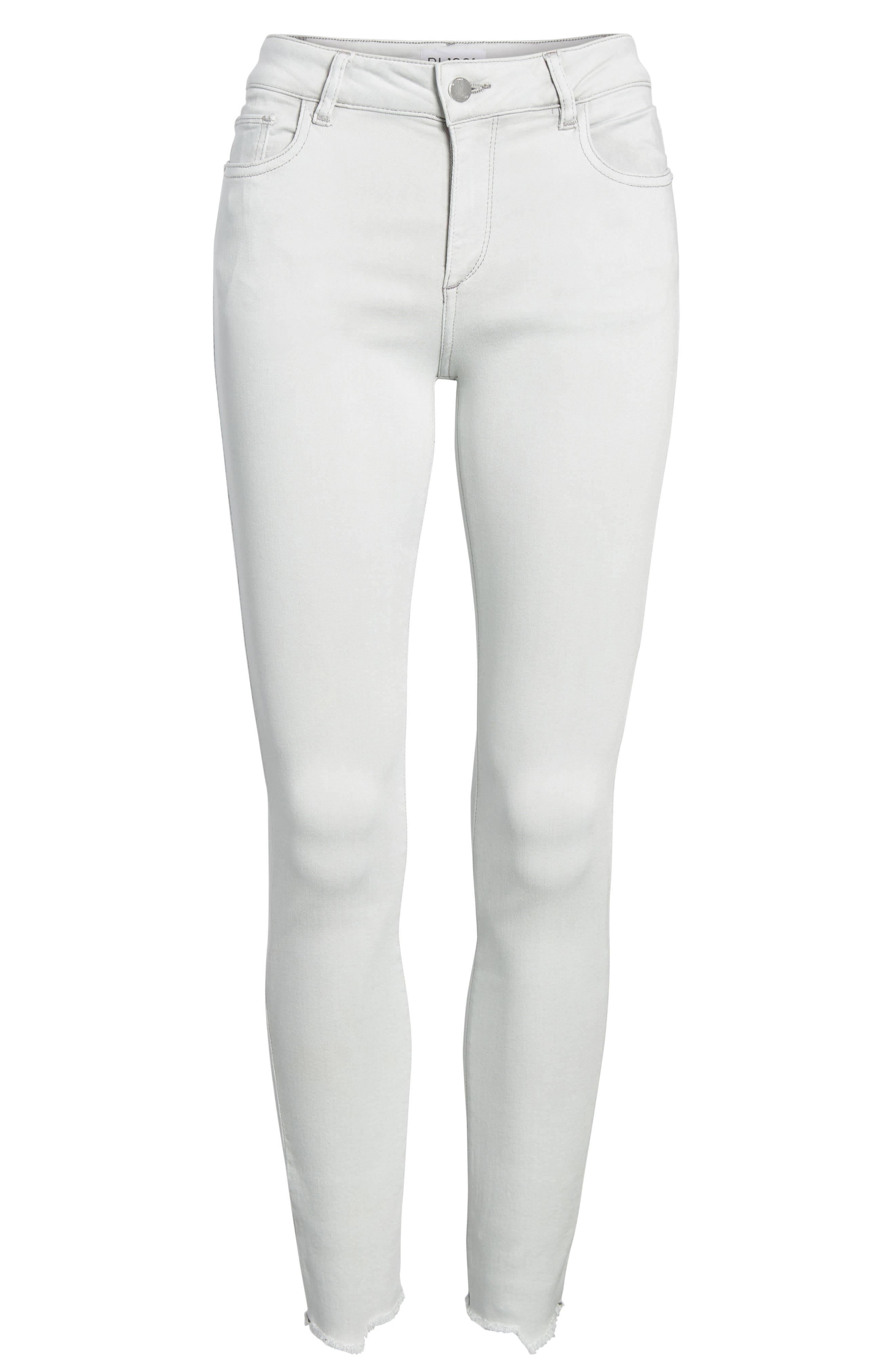Margaux Instasculpt Ankle Skinny Jeans,                             Alternate thumbnail 7, color,                             020