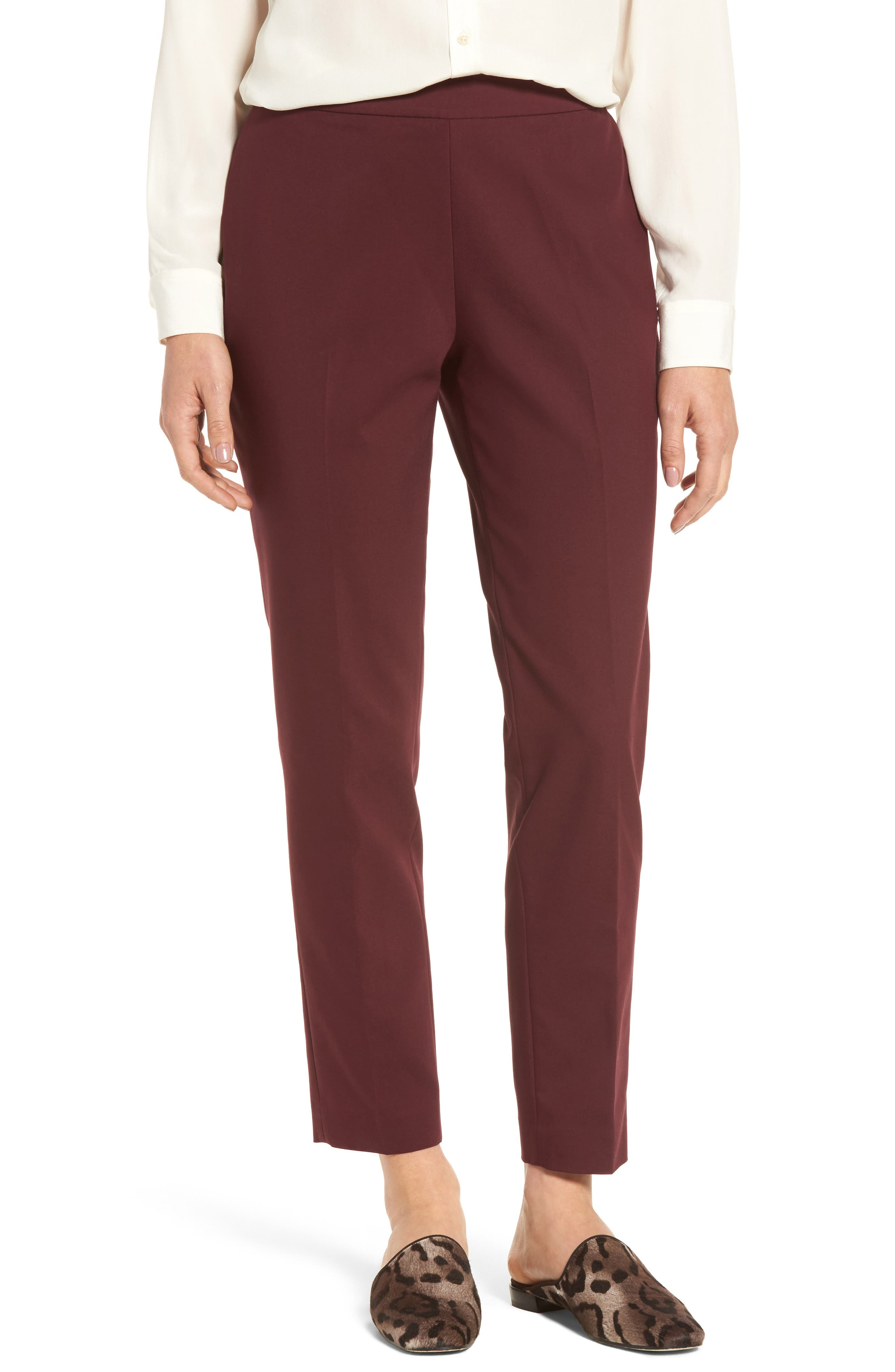Jackie Pull-On Ankle Pants,                             Main thumbnail 2, color,