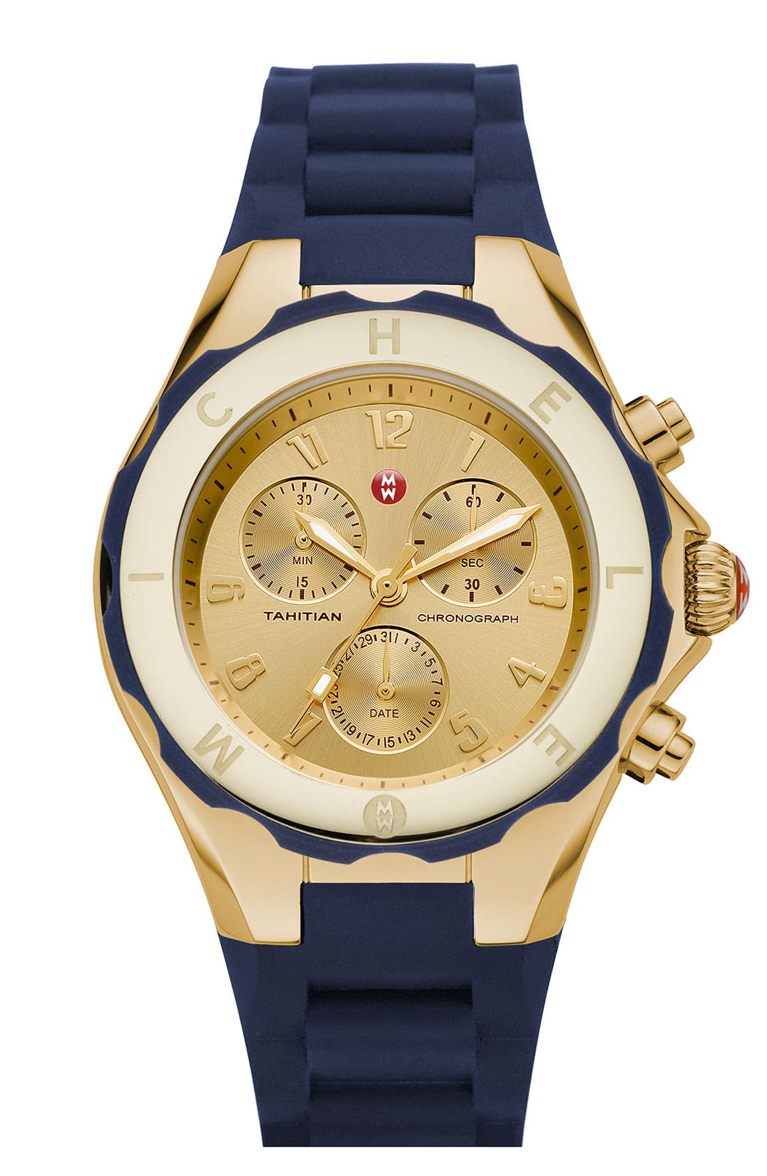 'Tahitian Jelly Bean' Gold Plated Watch, 40mm,                             Main thumbnail 14, color,