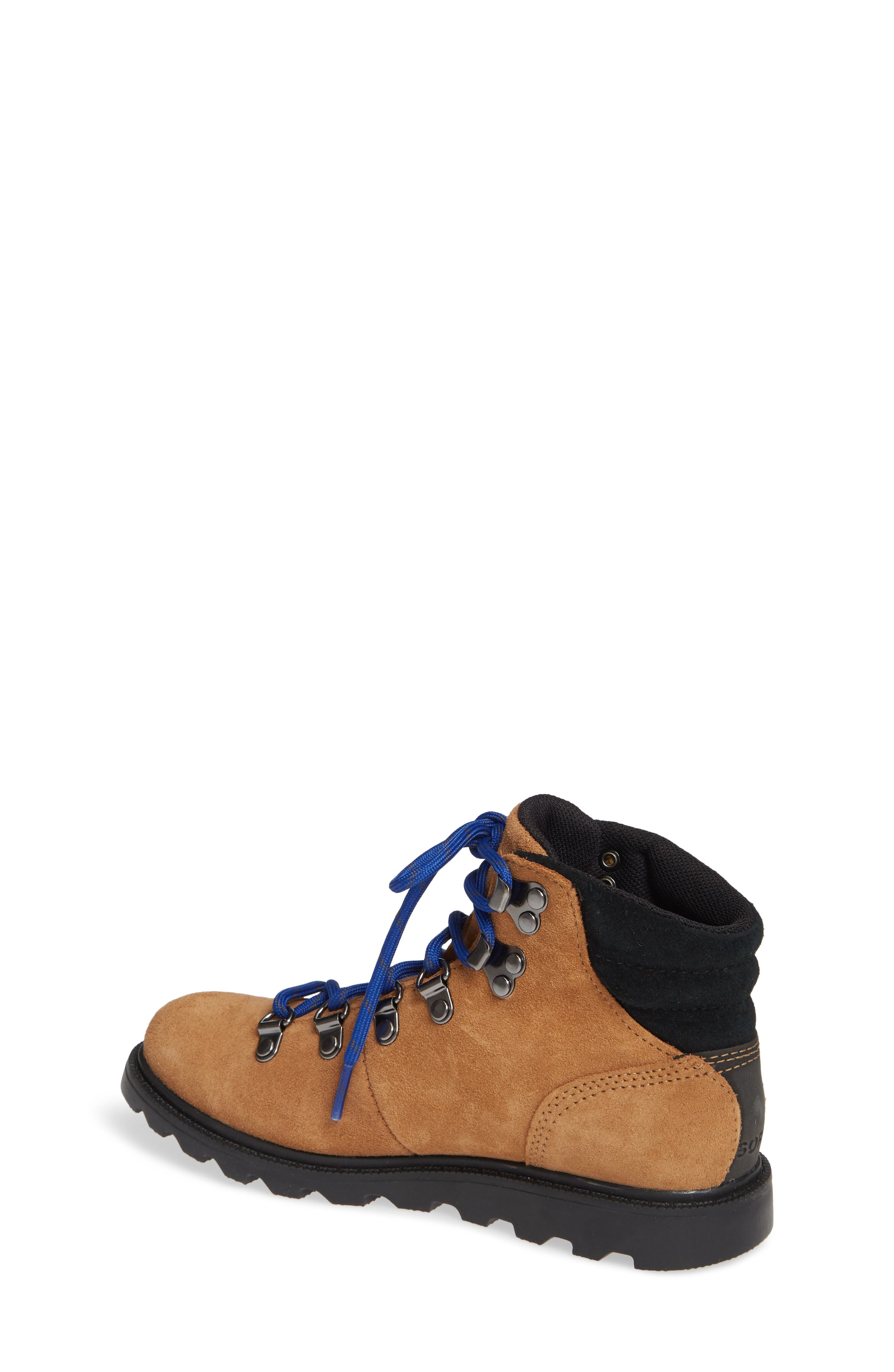 Madison Waterproof Hiker Boot,                             Alternate thumbnail 2, color,                             CAMEL BROWN/ BLACK