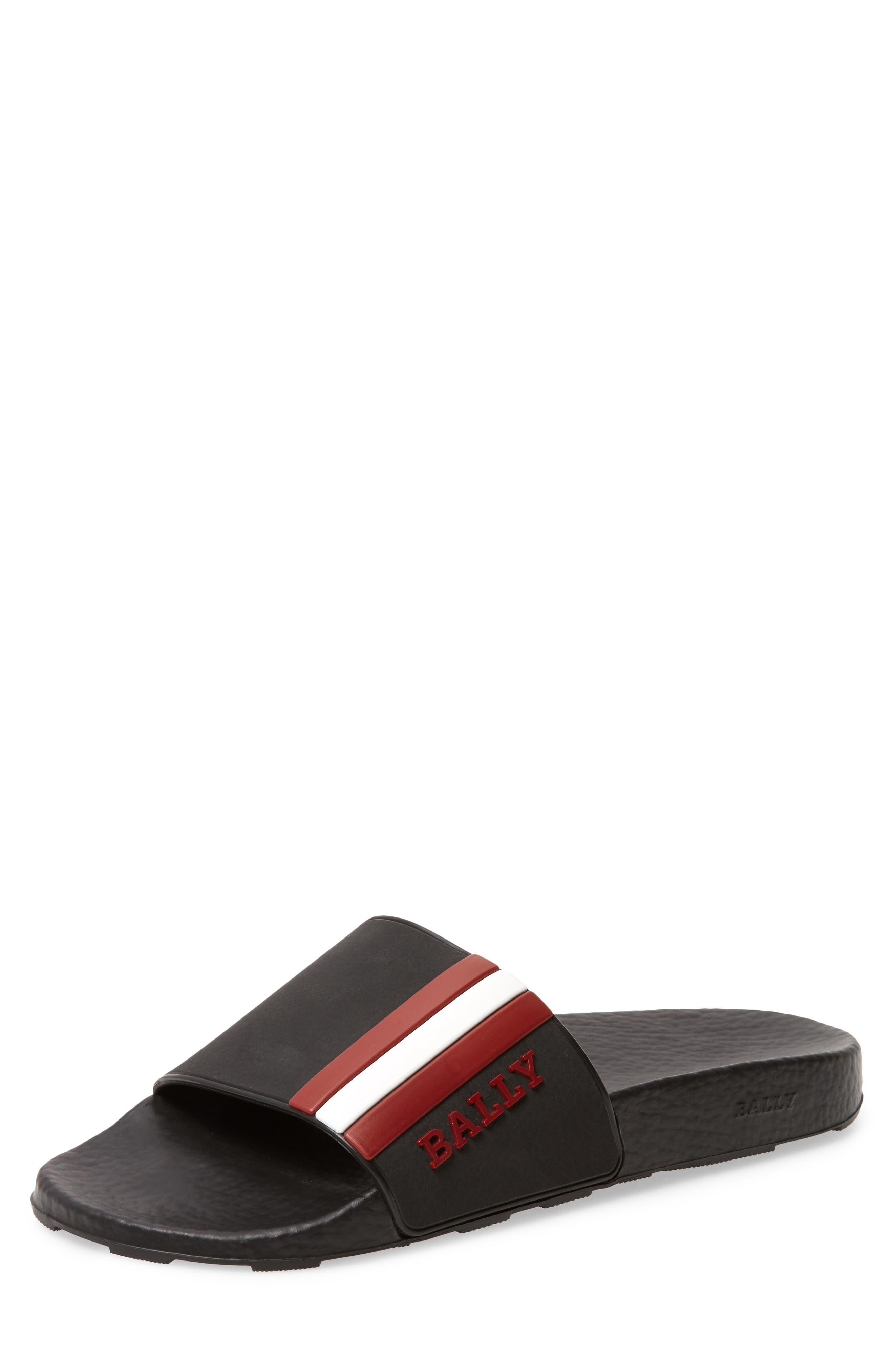 BALLY,                             Saxor Slide Sandal,                             Main thumbnail 1, color,                             798