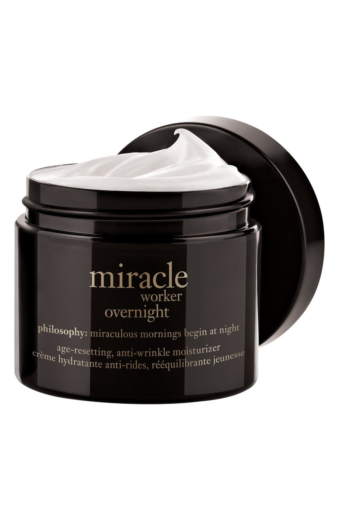 'anti-wrinkle miracle worker' age-resetting nighttime moisturizer,                             Alternate thumbnail 4, color,                             NO COLOR