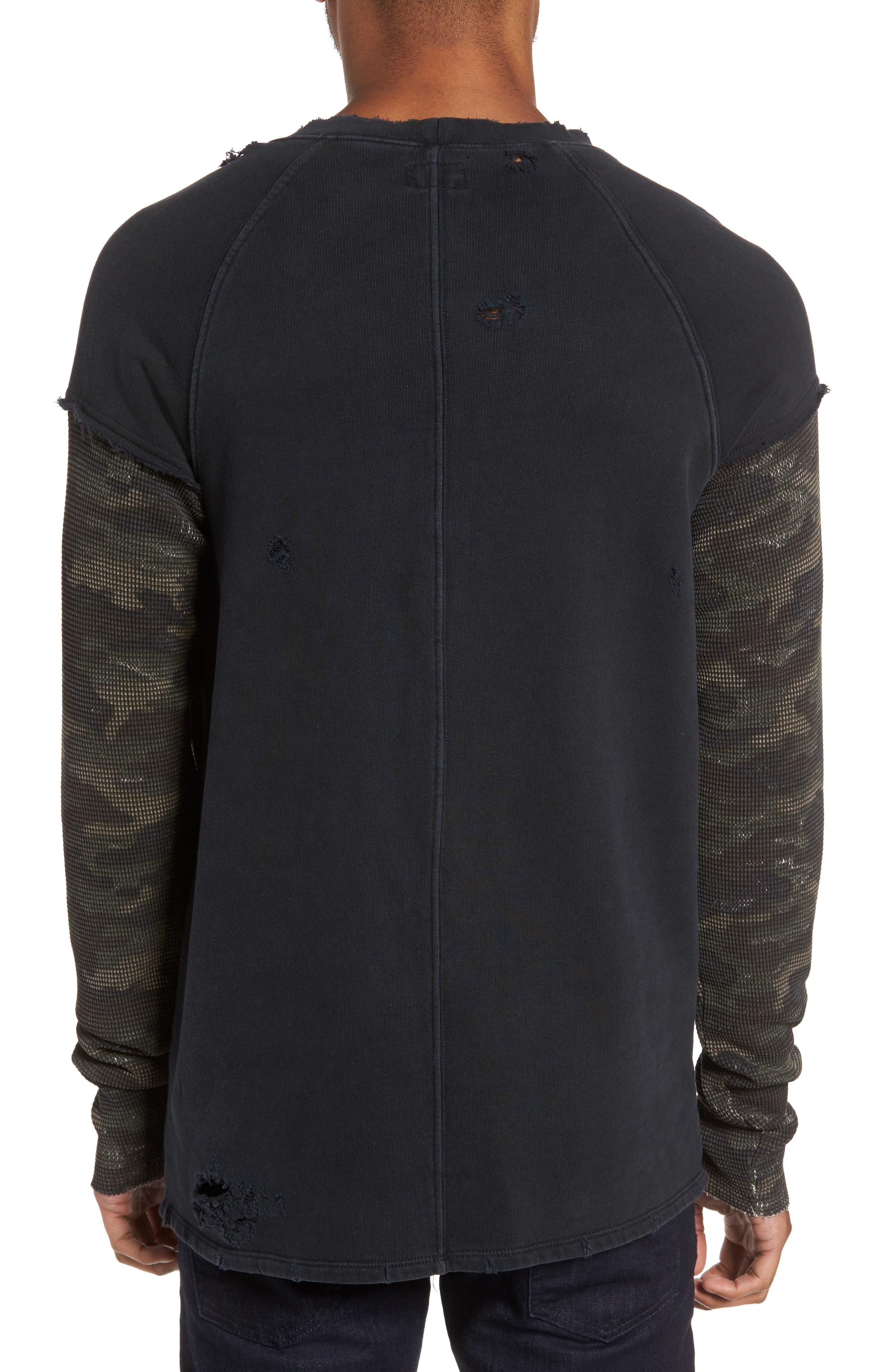 Striker Slim Fit Crewneck Sweatshirt,                             Alternate thumbnail 2, color,