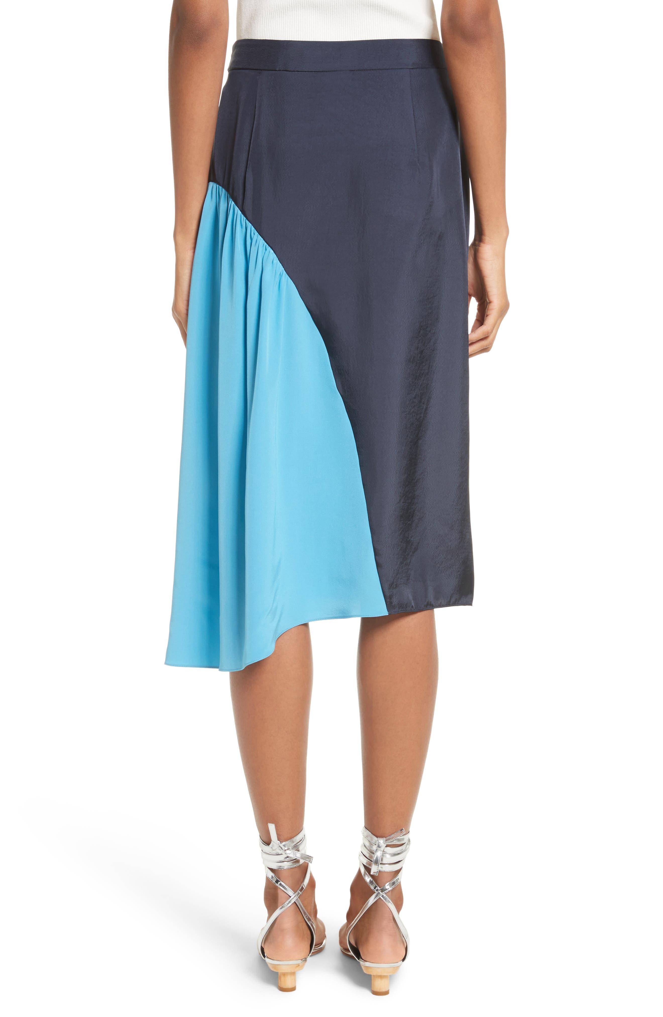 Colorblock Skirt,                             Alternate thumbnail 2, color,                             404