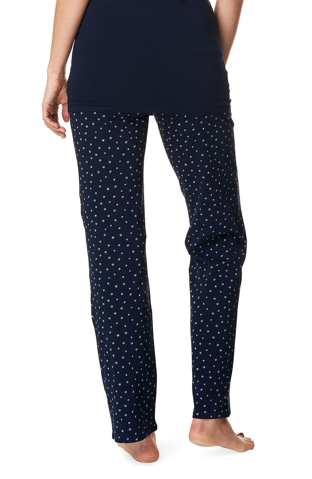NOPPIES,                             Sterre Maternity Pants,                             Alternate thumbnail 2, color,                             BLUE