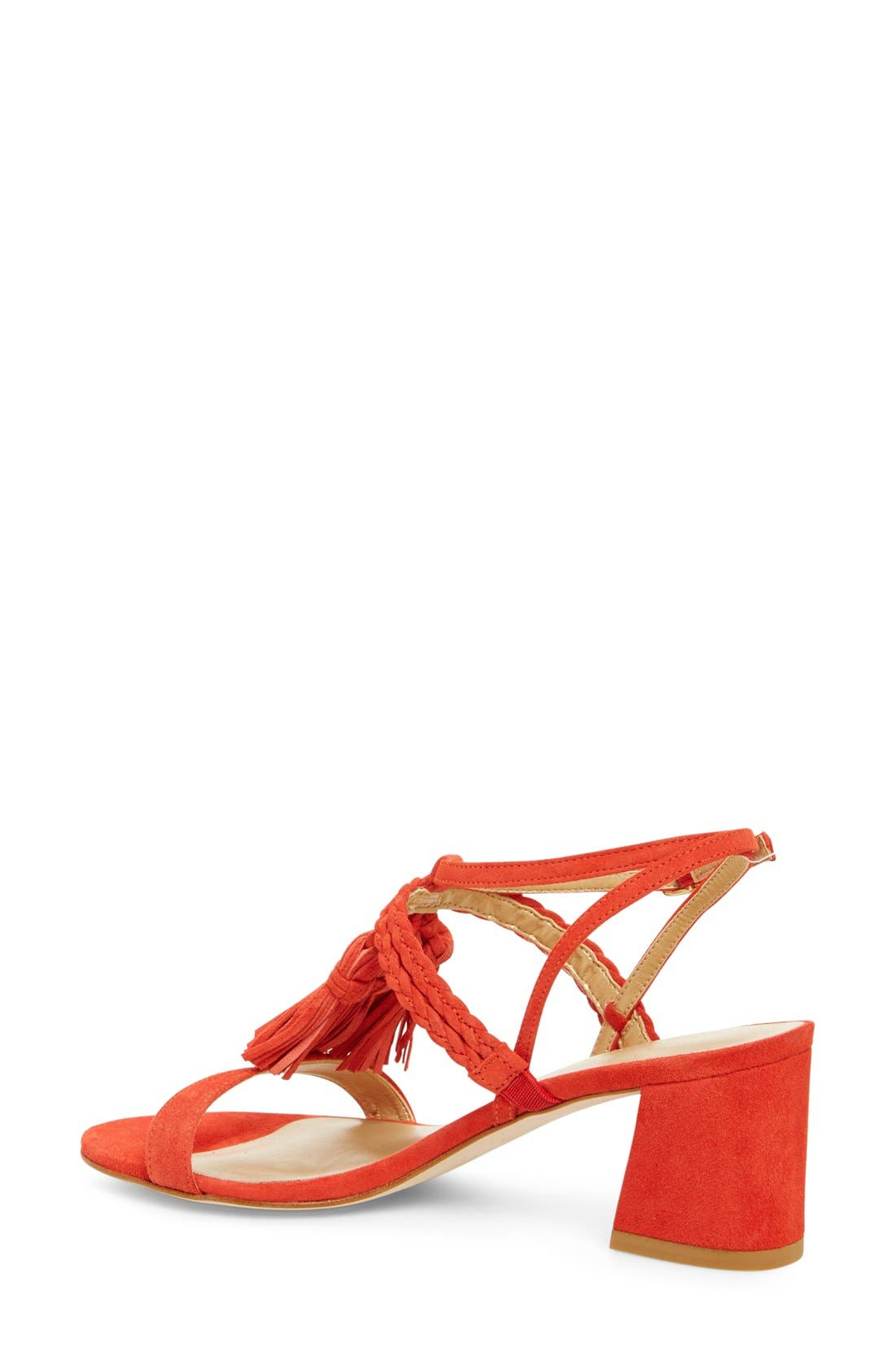 'Tasselmania' Strappy Sandal,                             Alternate thumbnail 9, color,