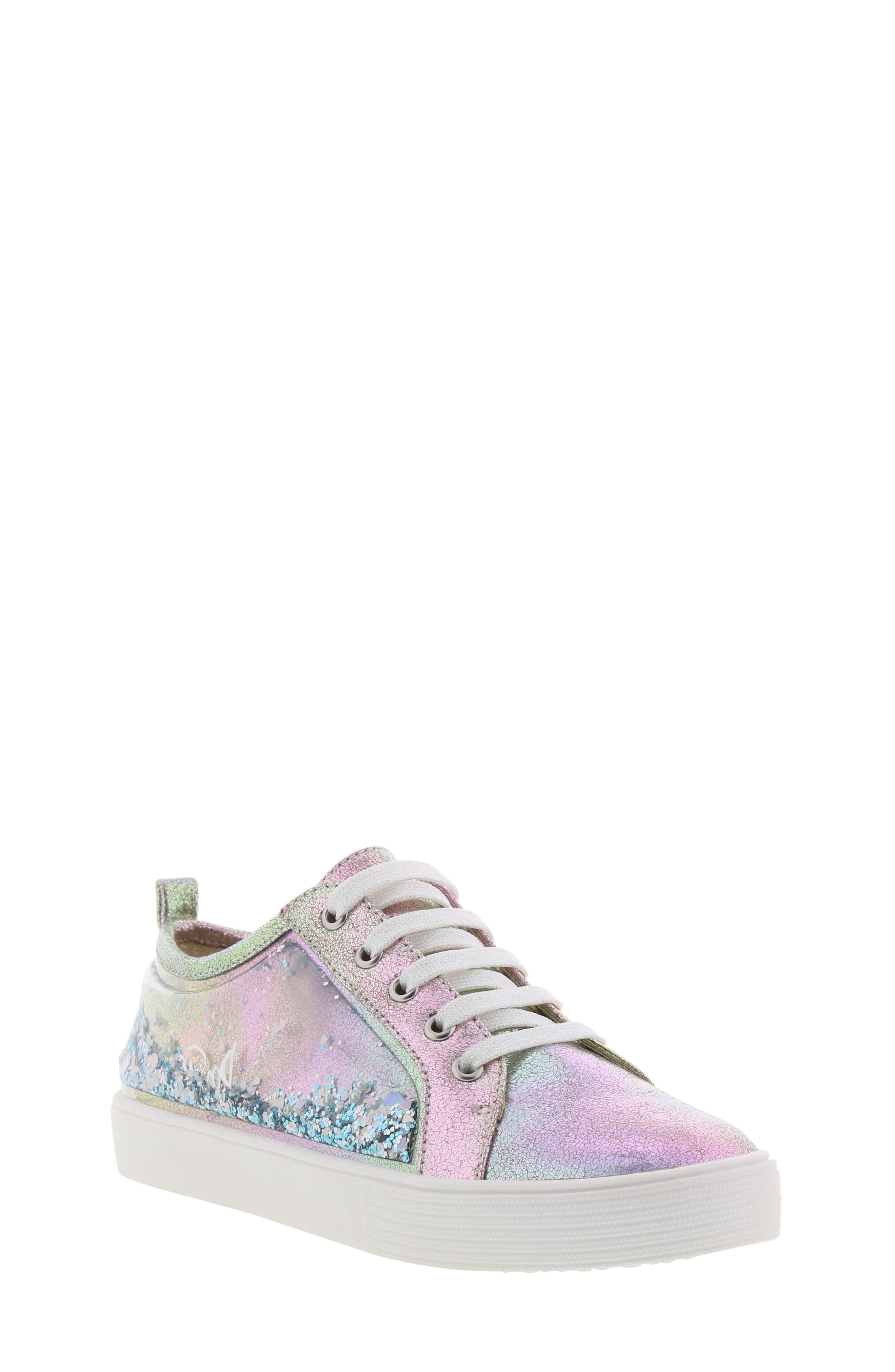 Bella Aqua Slip-On Sneaker,                             Main thumbnail 1, color,                             GASOLINE IRIDESCENT