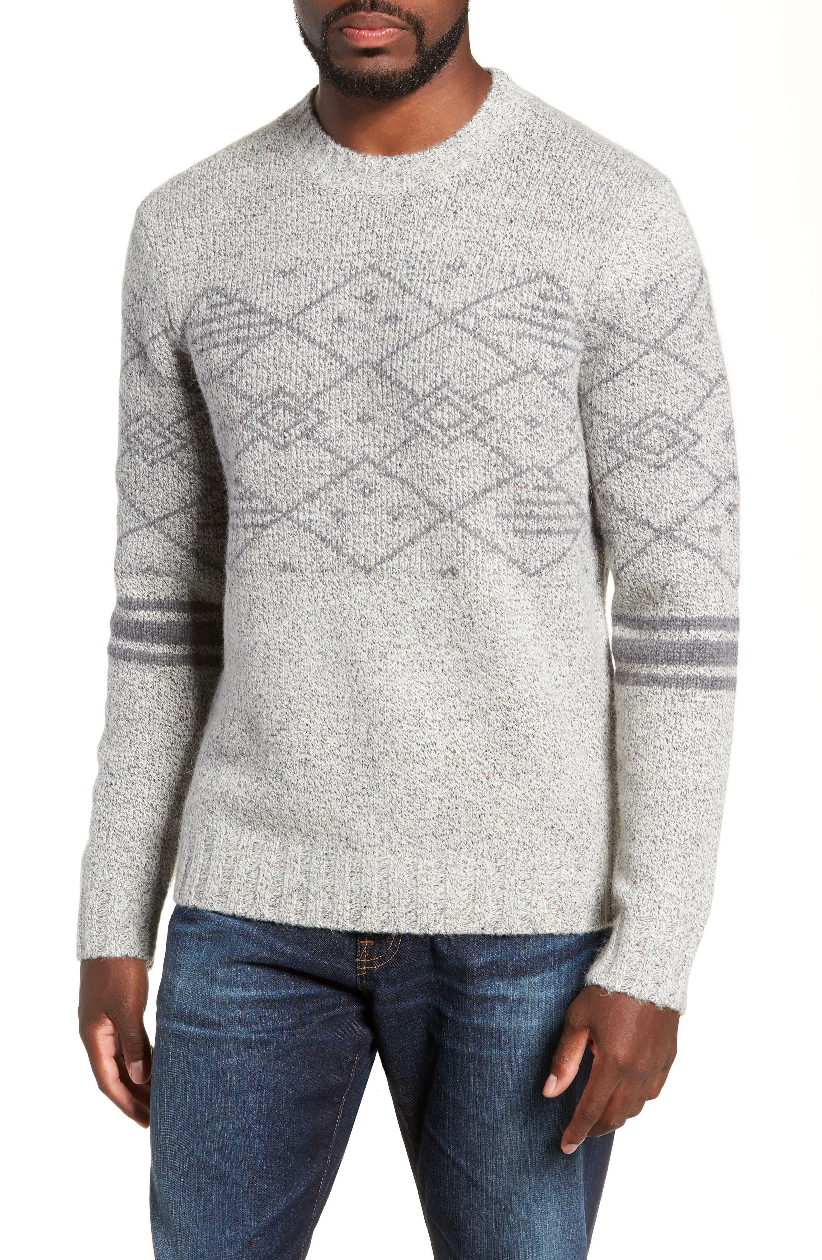 Fair Isle Regular Fit Sweater,                             Main thumbnail 1, color,                             060
