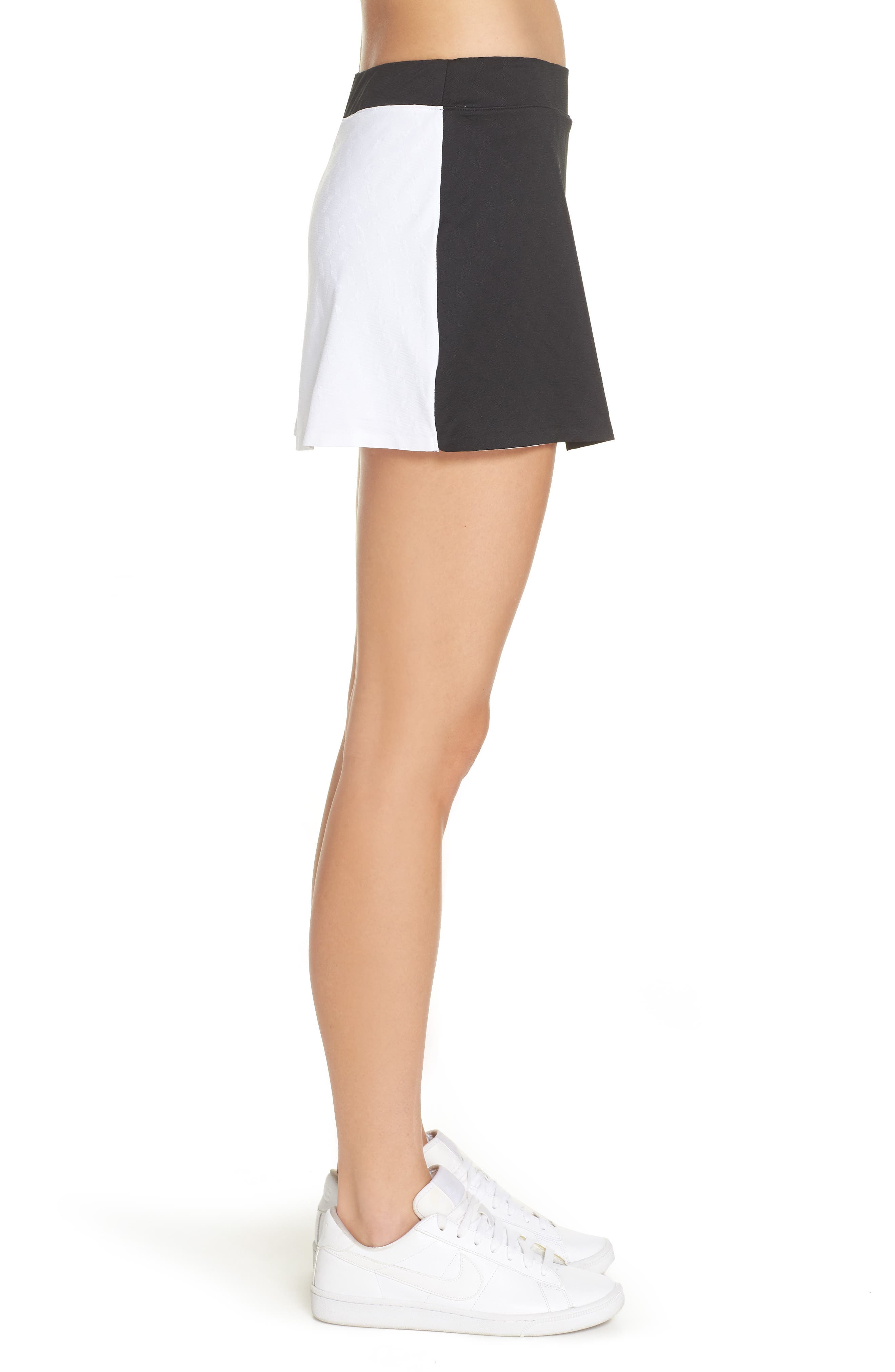 Court Maria Tennis Skirt,                             Alternate thumbnail 3, color,                             010