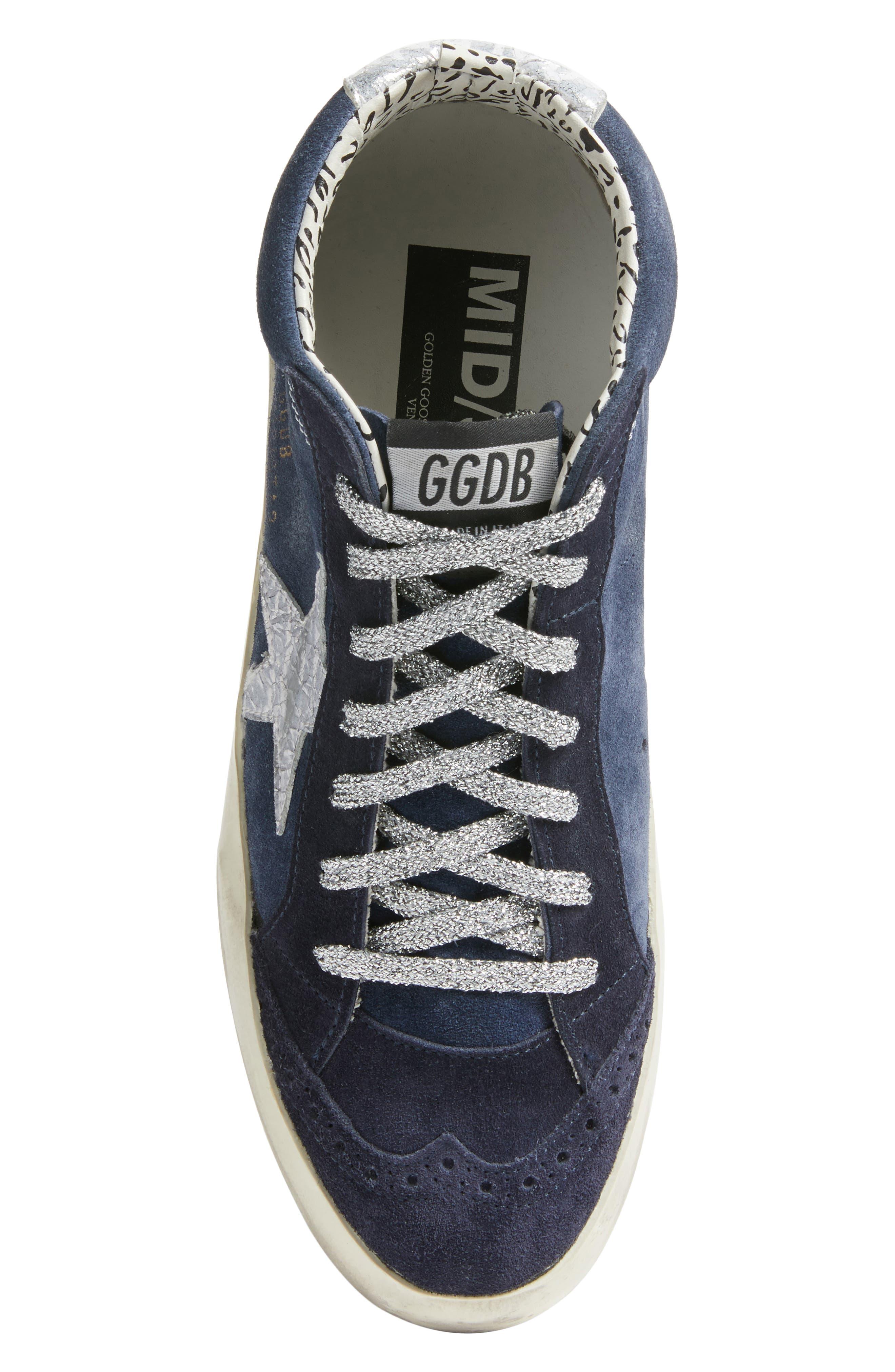 Star Mid Top Sneaker,                             Alternate thumbnail 5, color,                             401