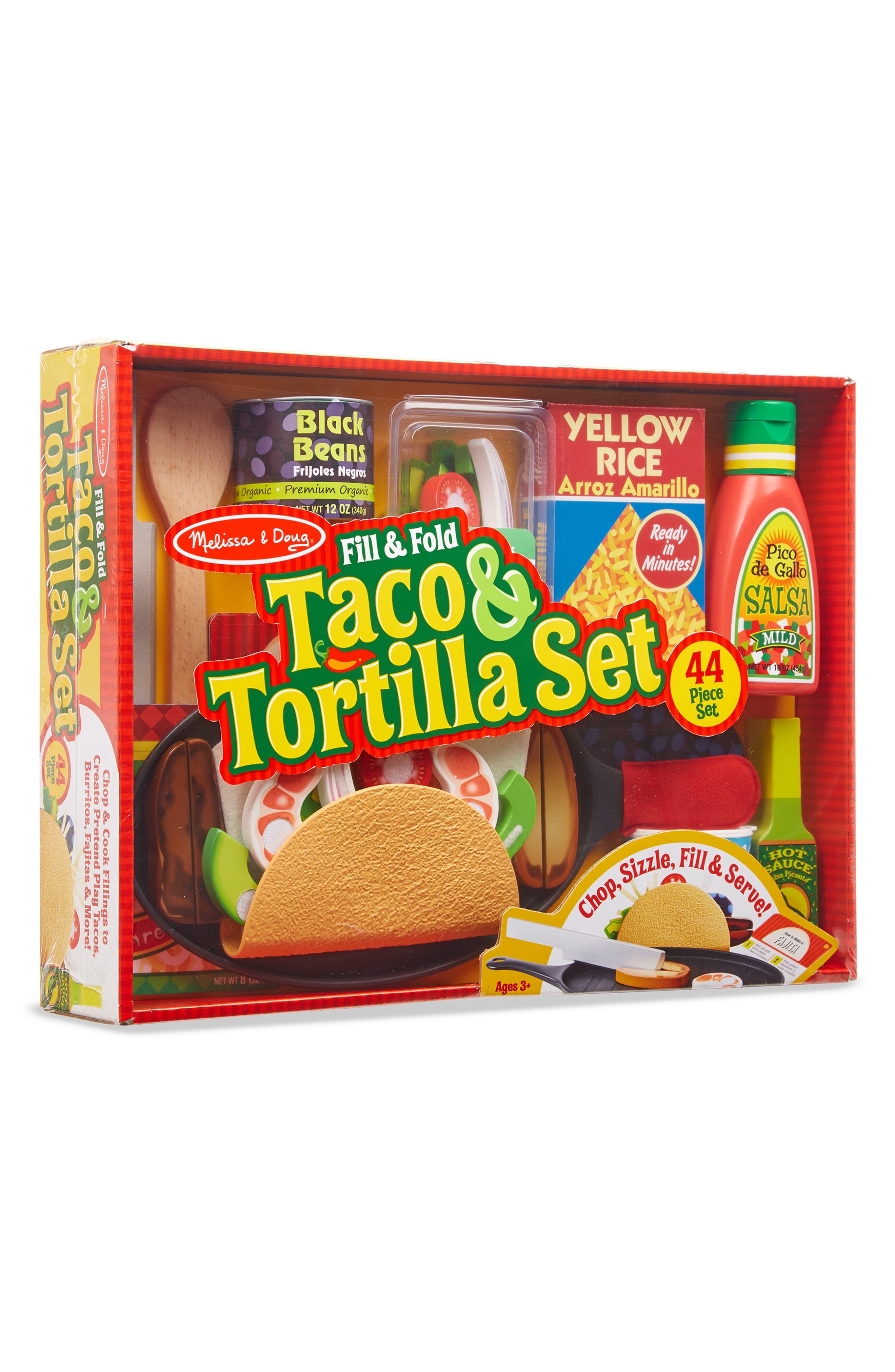 MELISSA & DOUG,                             Fill & Fold Taco & Tortilla Set,                             Alternate thumbnail 2, color,                             960