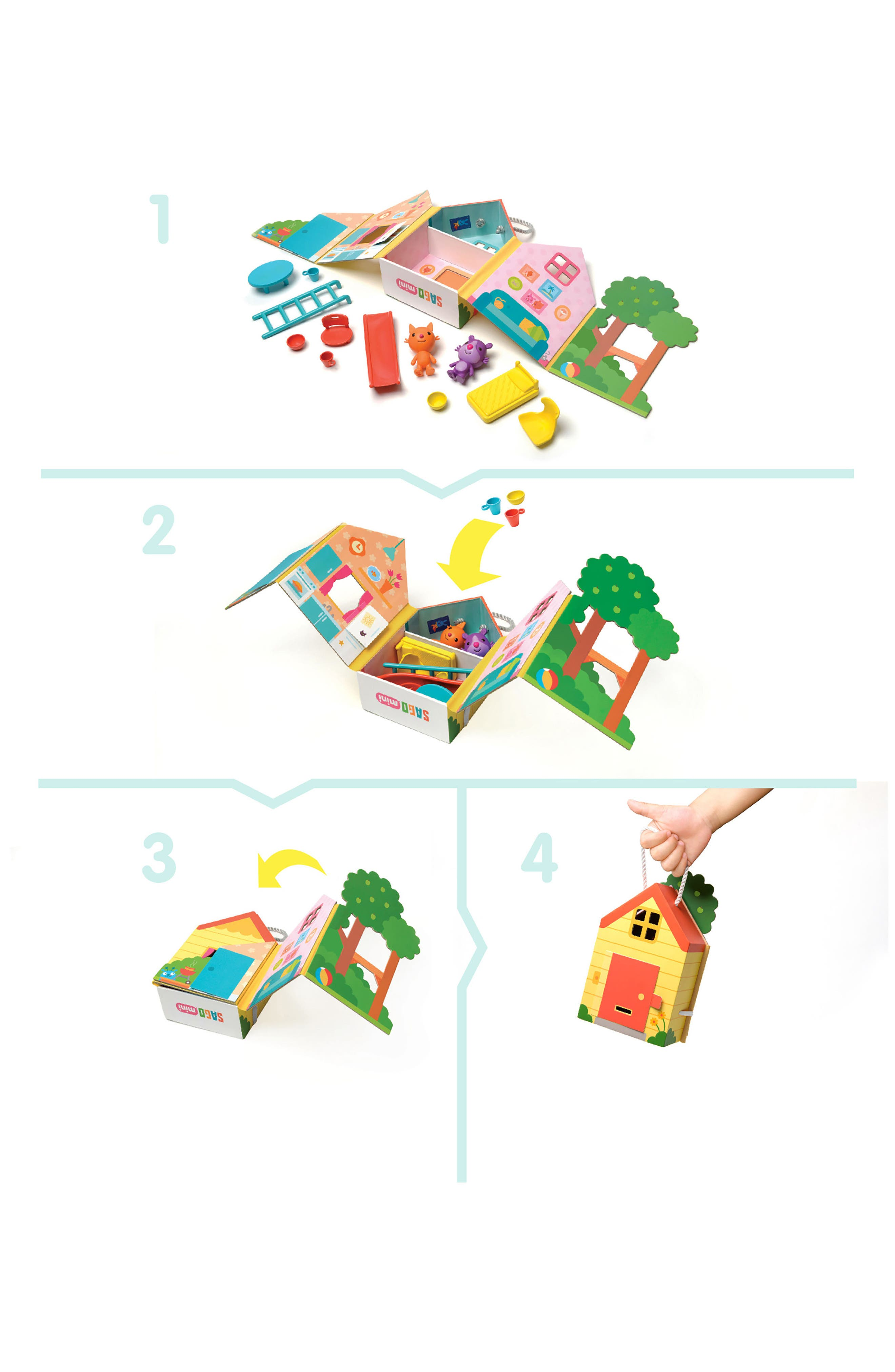 Jinja's House Portable Play Set,                             Alternate thumbnail 4, color,                             800