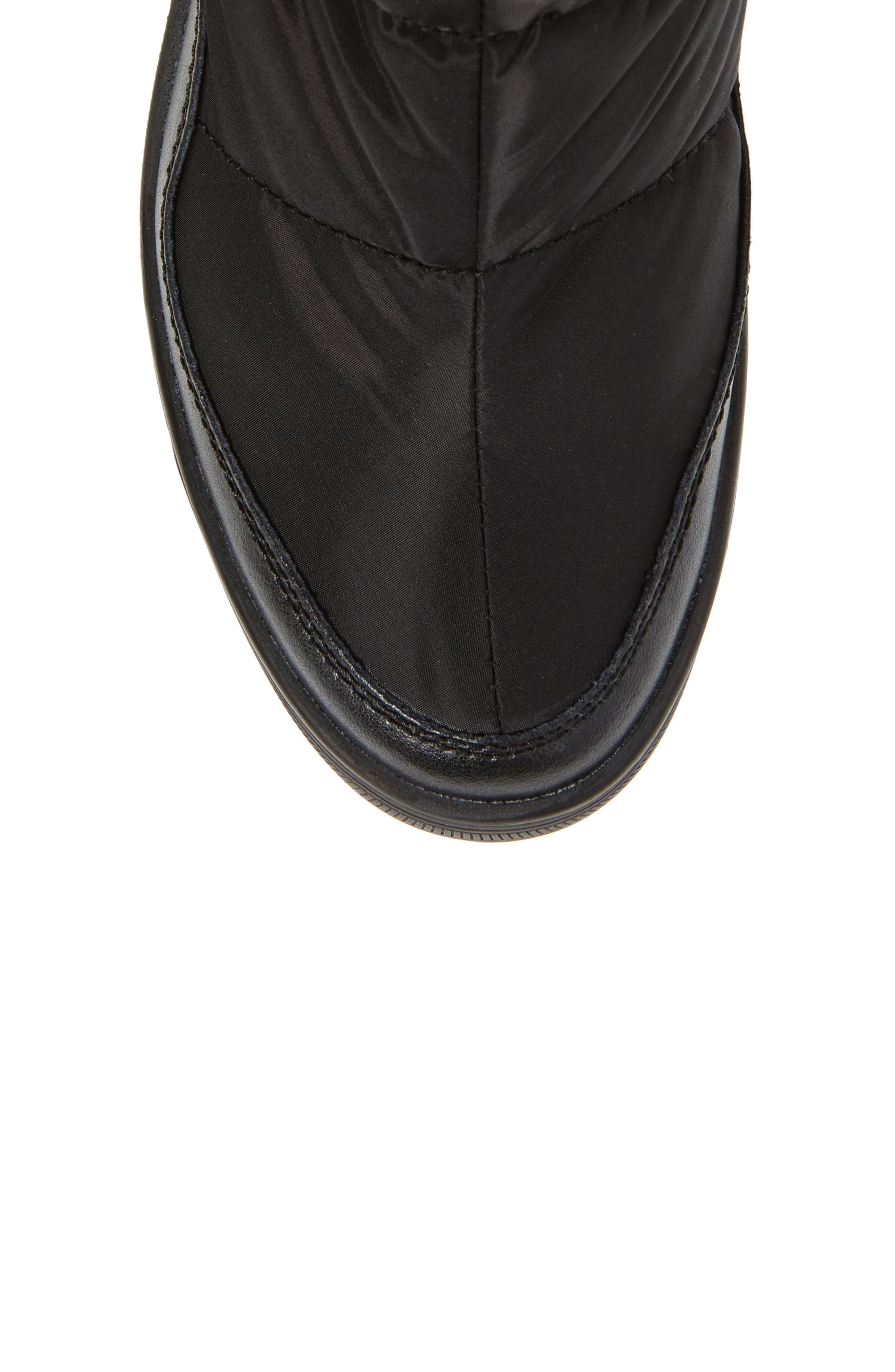 Ventura Weatherproof Faux Fur Lined Boot,                             Alternate thumbnail 5, color,                             001