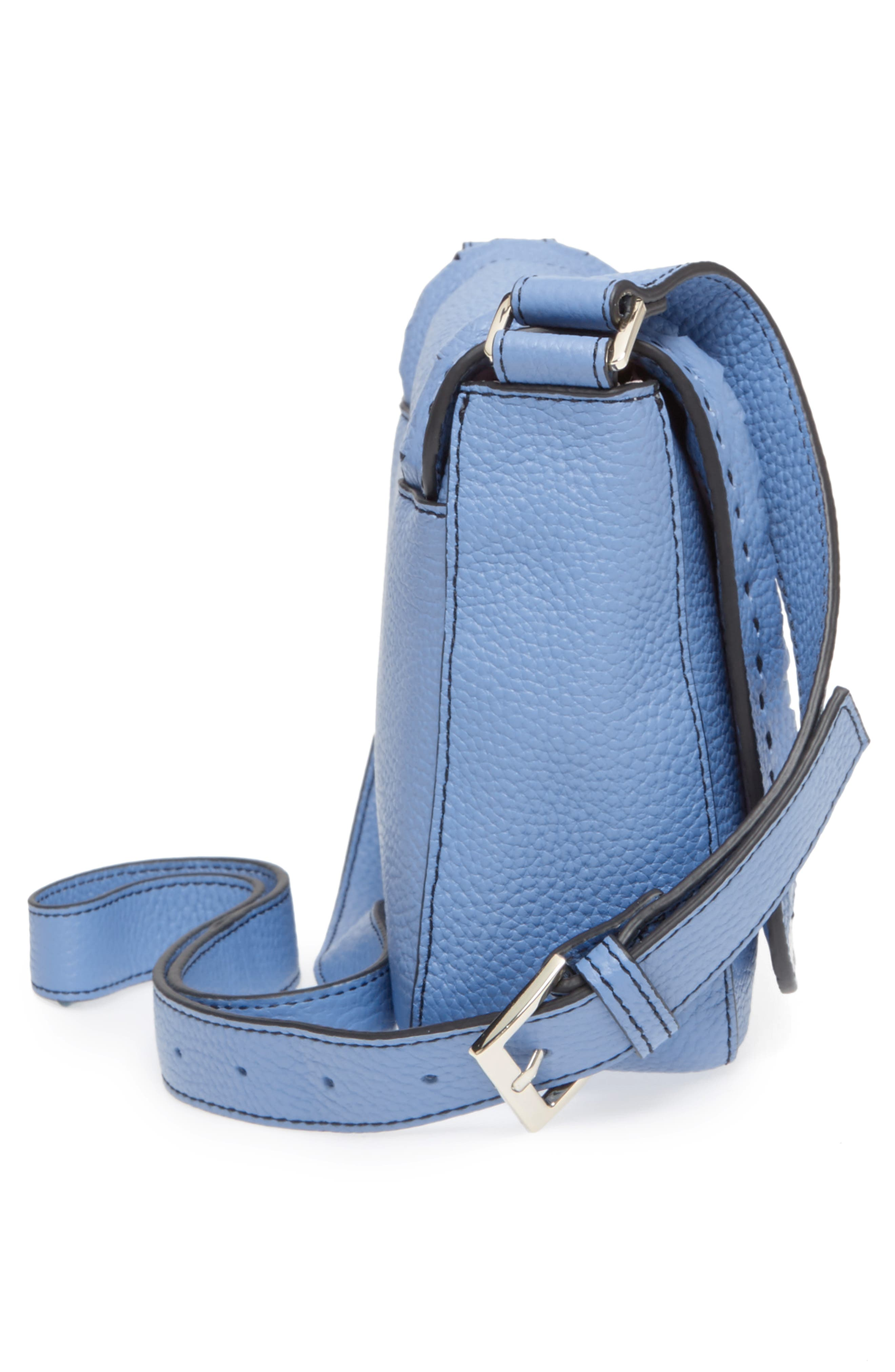 Tippi Leather Crossbody Bag,                             Alternate thumbnail 14, color,