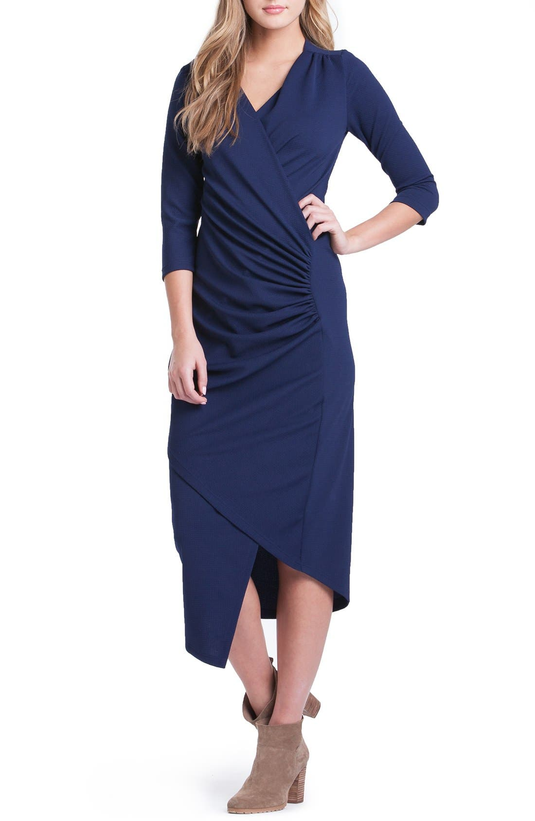 Lilac Clothing Carly Maternity Midi Dress