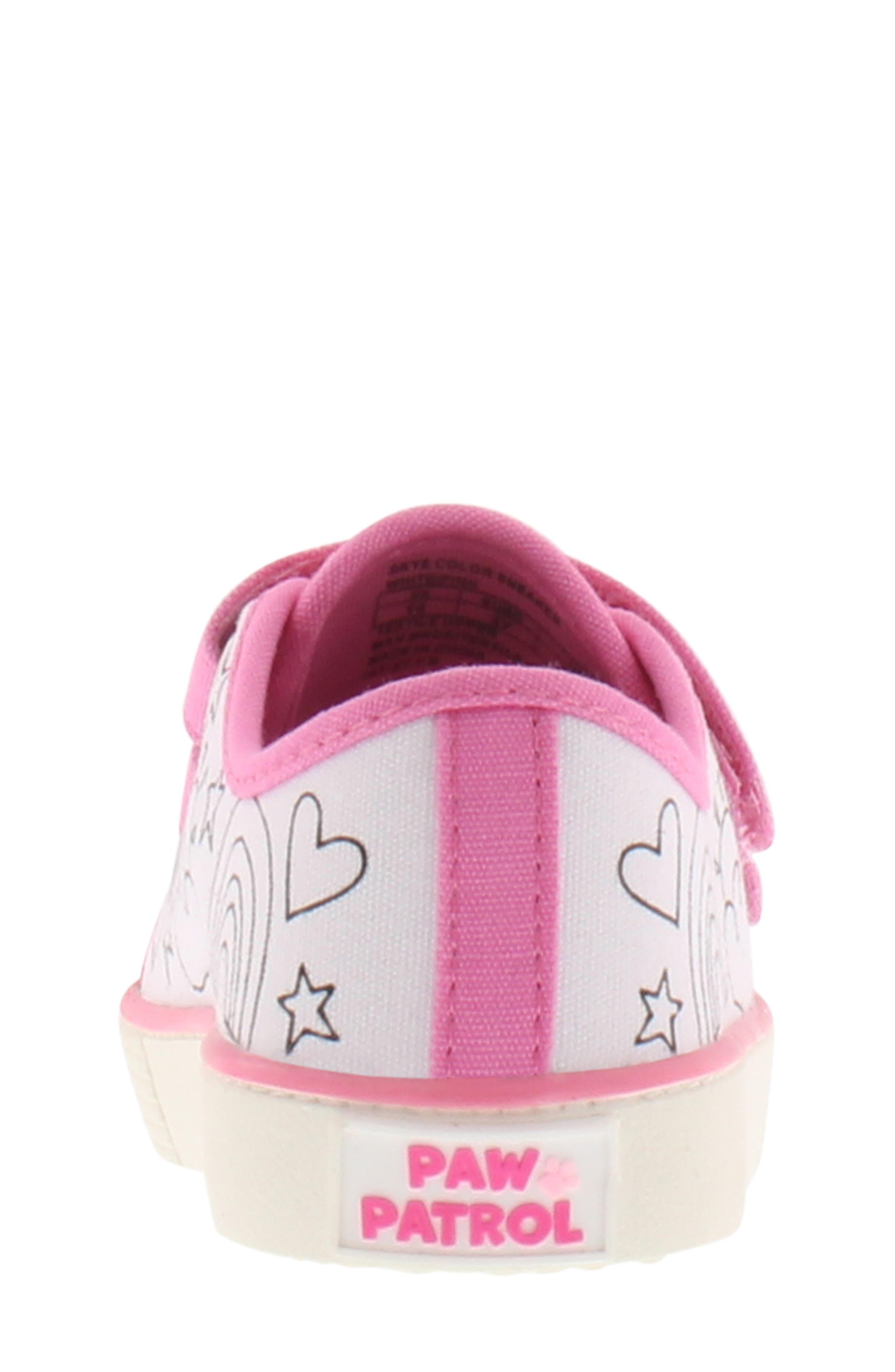Skye Color DIY Sneaker,                             Alternate thumbnail 5, color,                             PINK WHITE