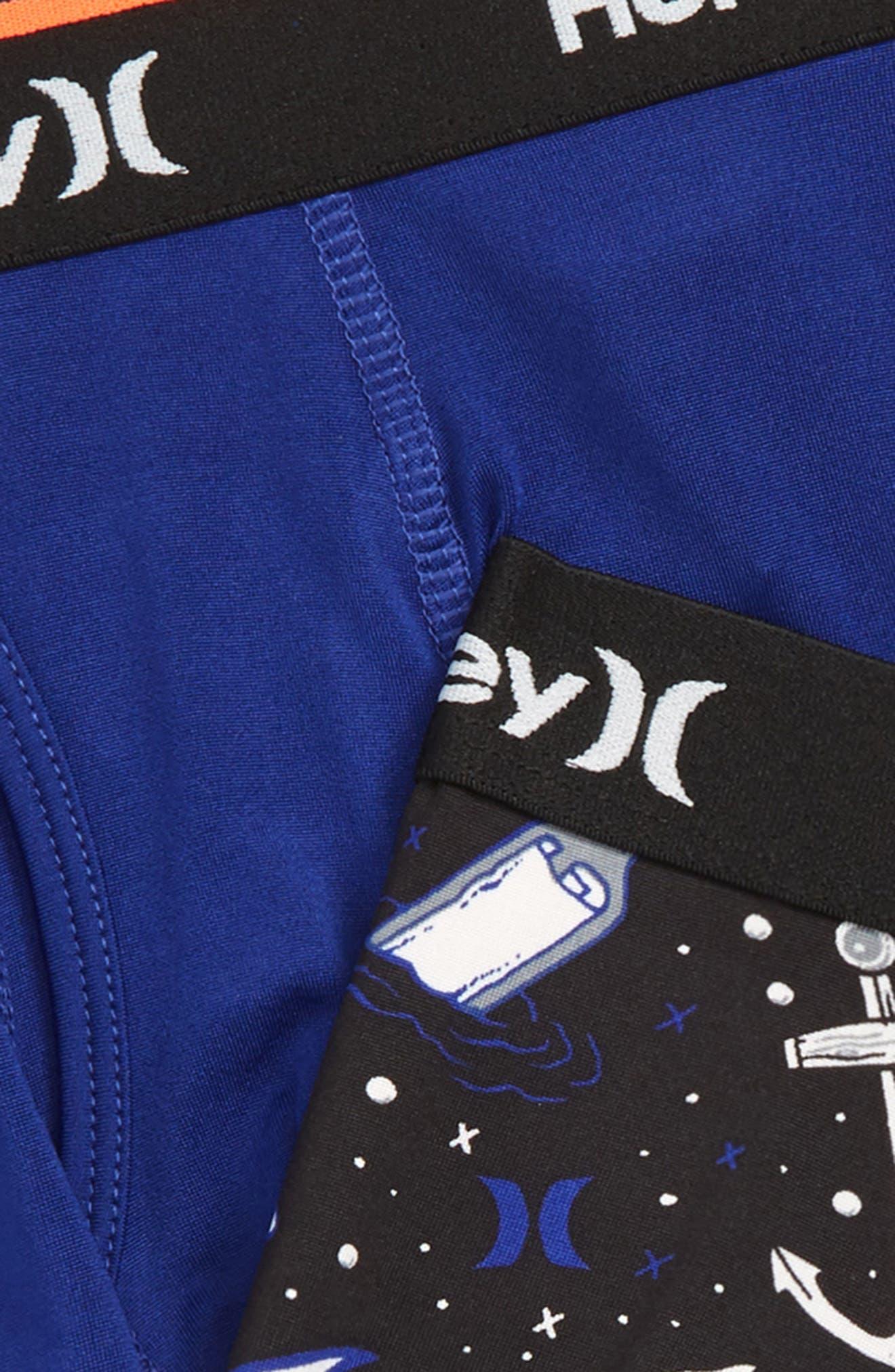 Shark Attack 2-Pack Boxer Briefs,                             Alternate thumbnail 2, color,                             DEEP ROYAL BLUE