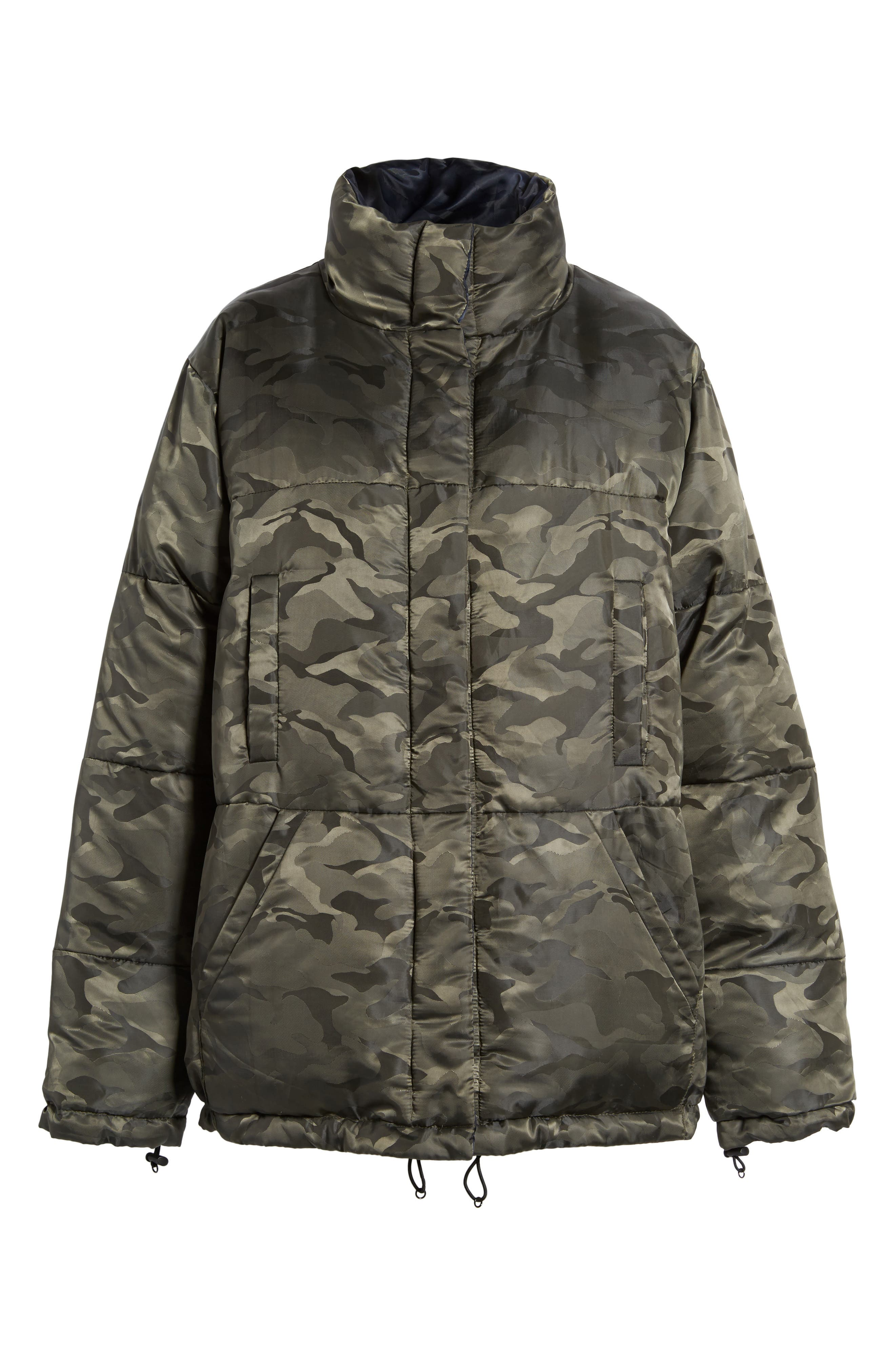 Reversible Puffer Jacket,                             Alternate thumbnail 5, color,                             300